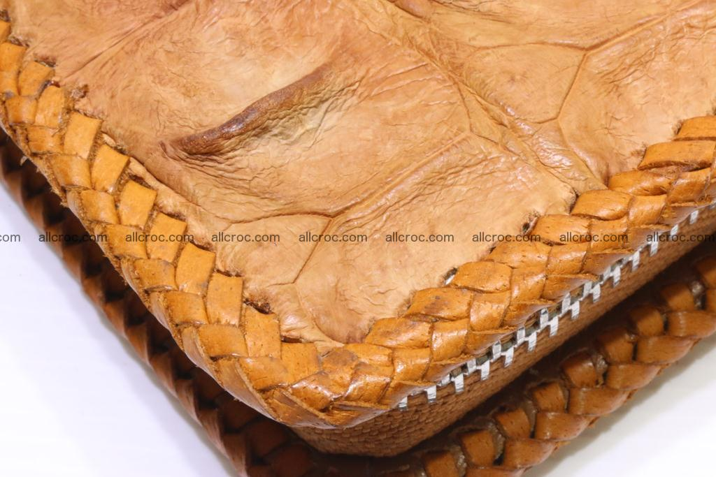 Genuine crocodile hornback wallet with zip 102 Foto 11