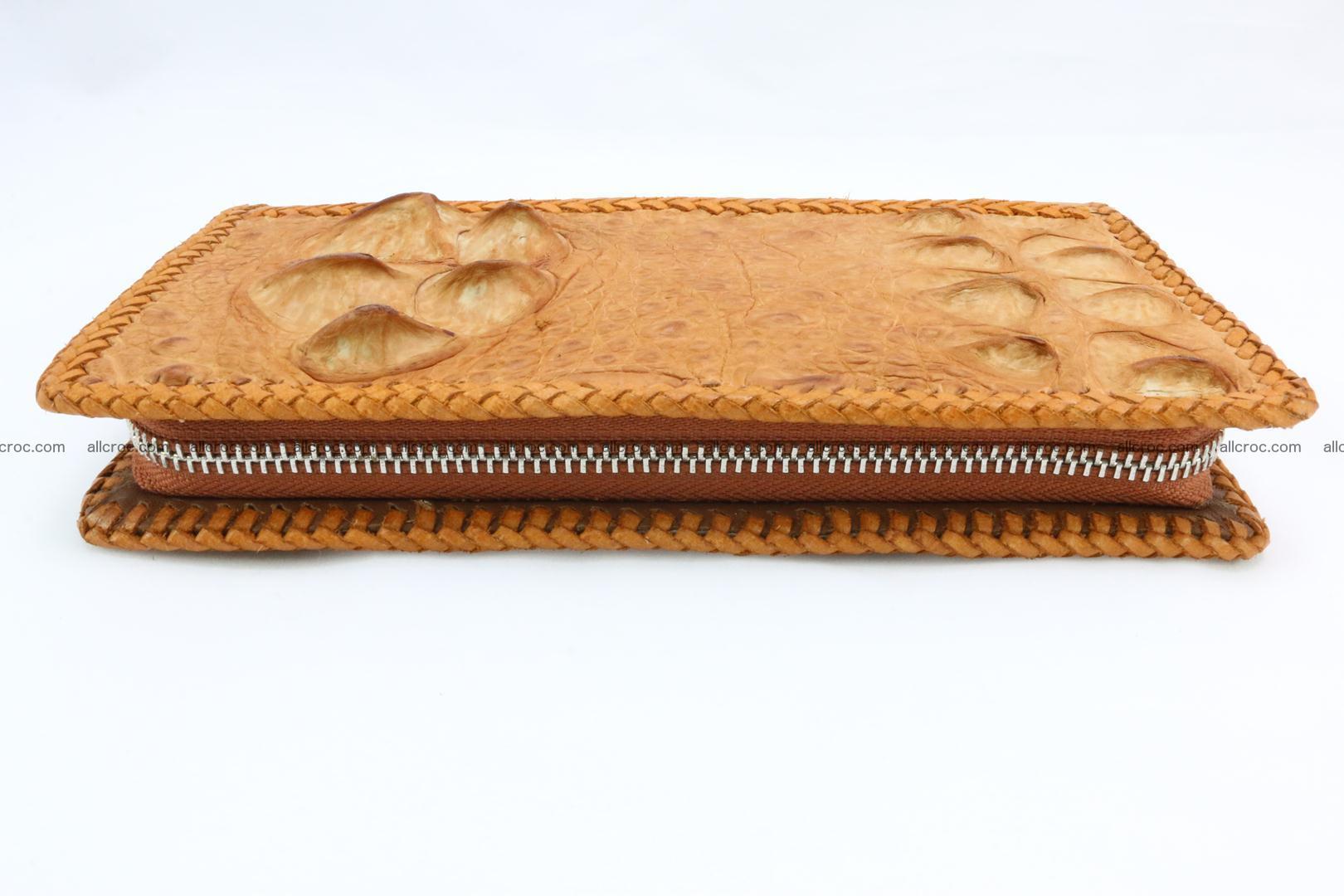 Genuine crocodile hornback wallet with zip 106 Foto 9
