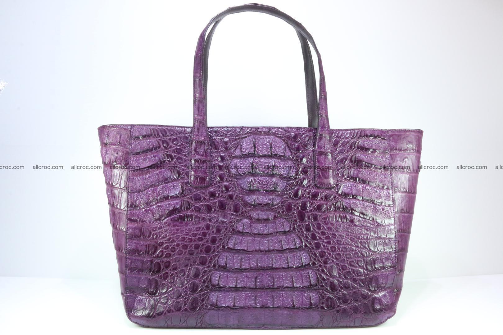 Genuine crocodile leather women's bag 061 Foto 0
