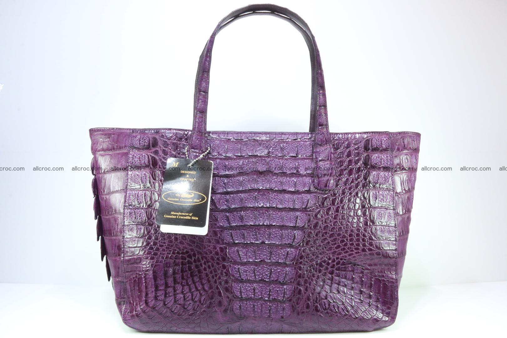 db187072a1b4d Genuine crocodile leather women s bag 061