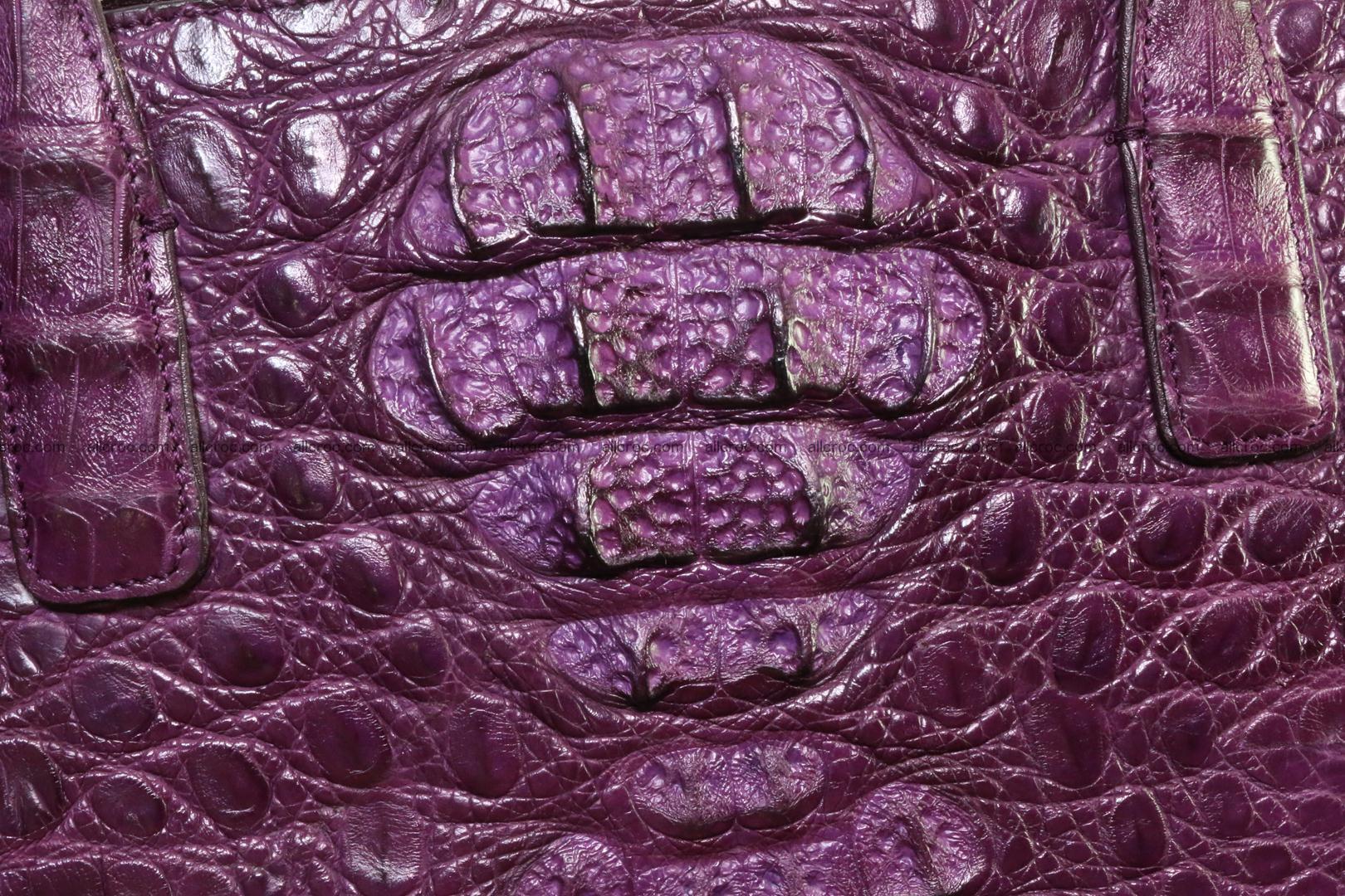 Genuine crocodile leather women's bag 061 Foto 2