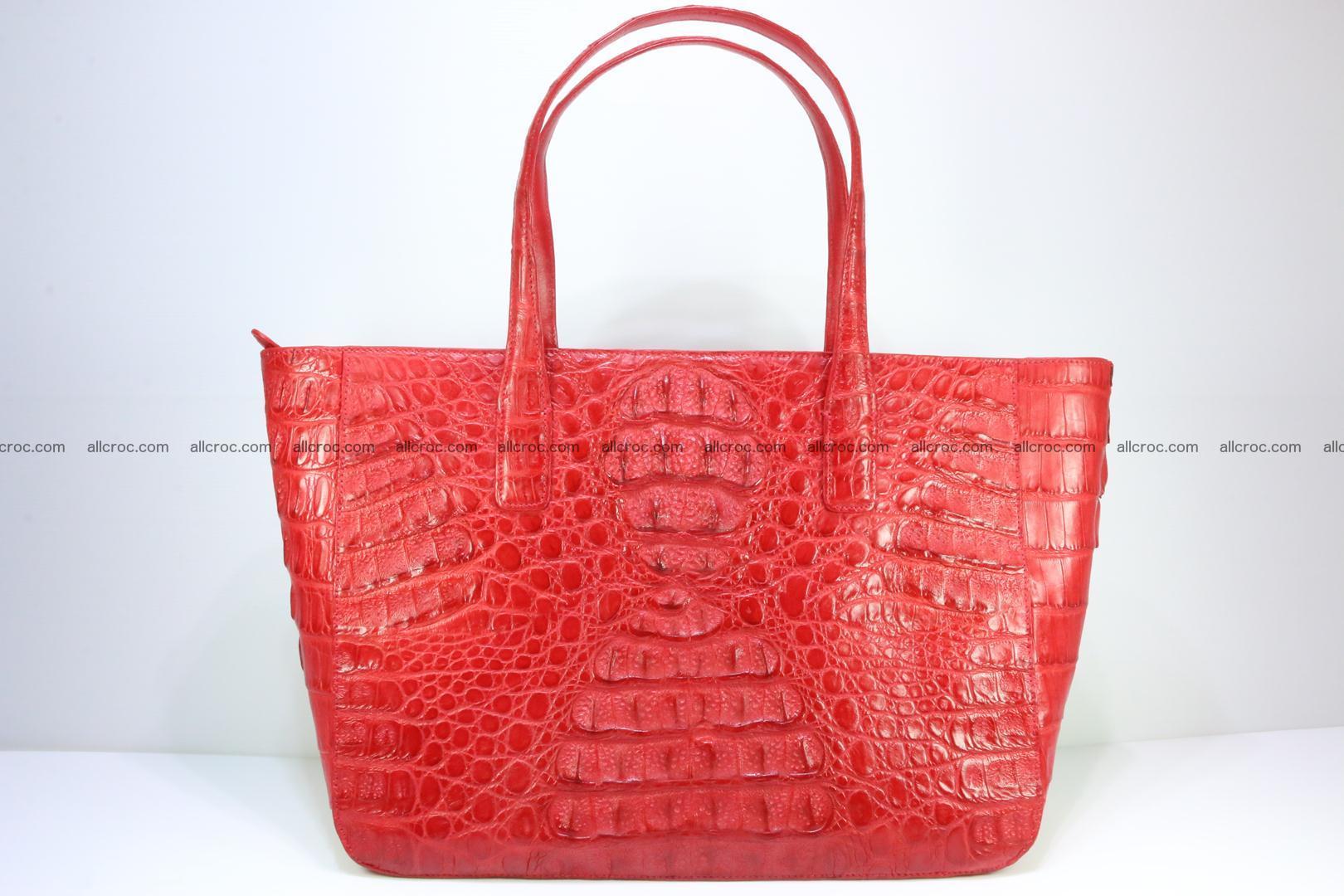 Genuine crocodile leather women's bag 062 Foto 0