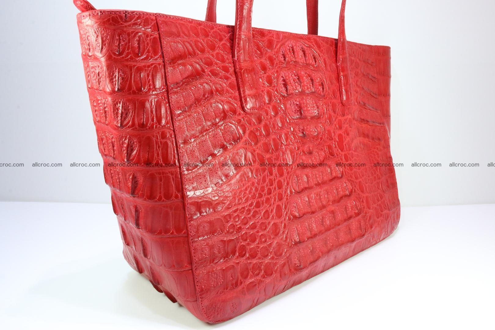 Genuine crocodile leather women's bag 062 Foto 2