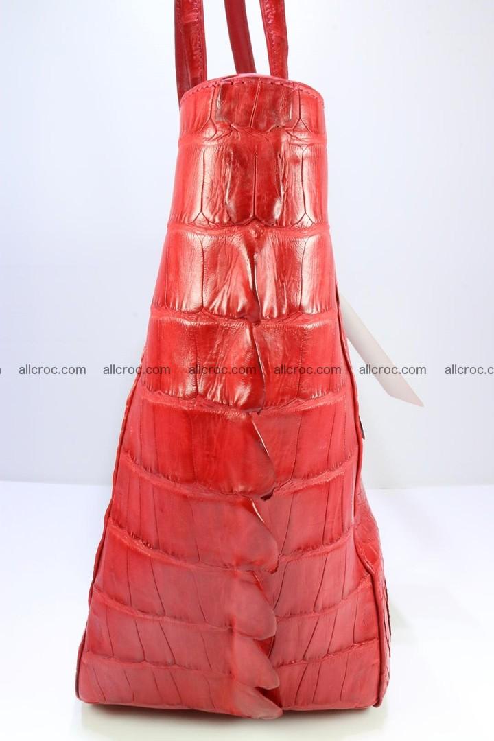 Genuine crocodile leather women's bag 062 Foto 6