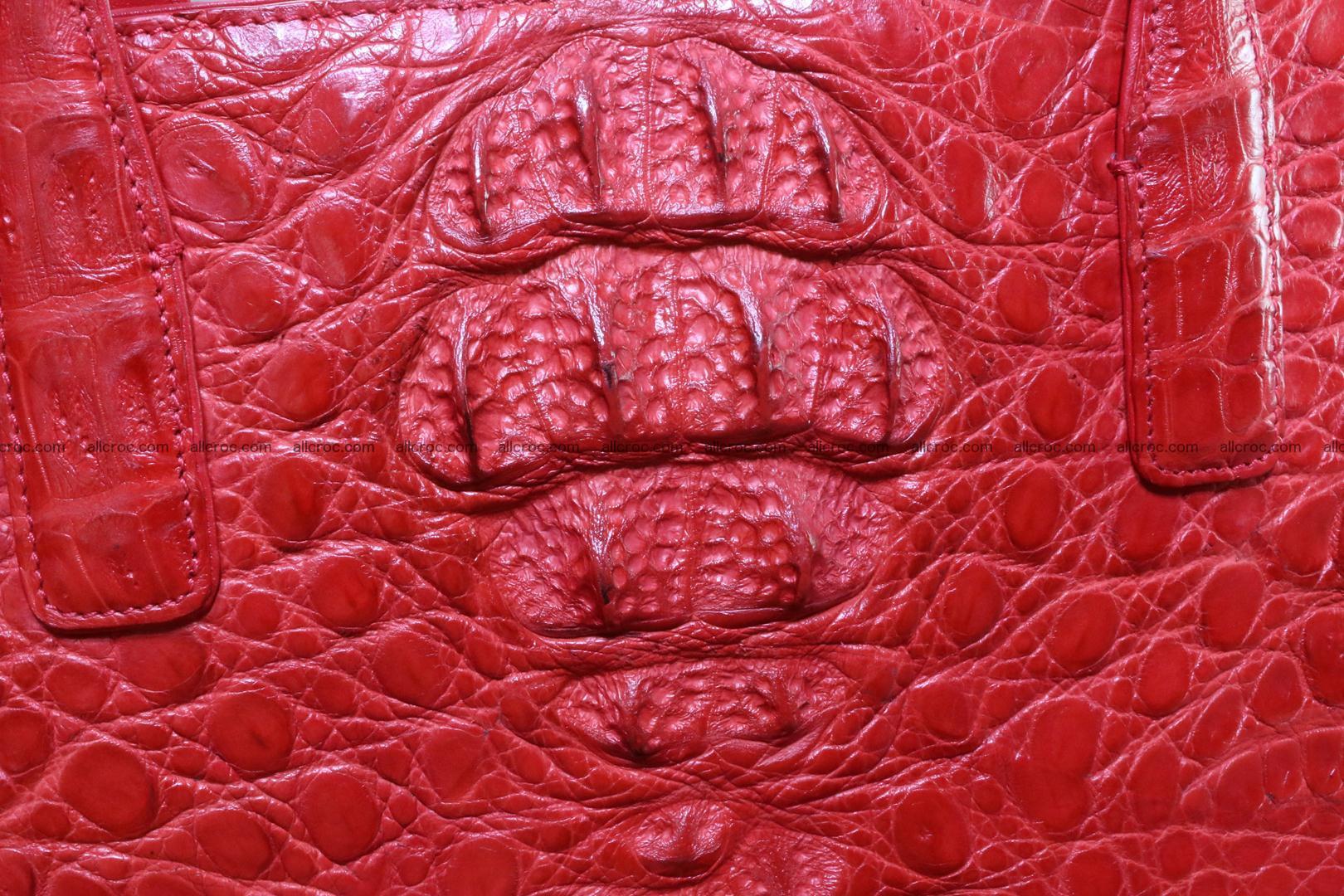 Genuine crocodile leather women's bag 062 Foto 1