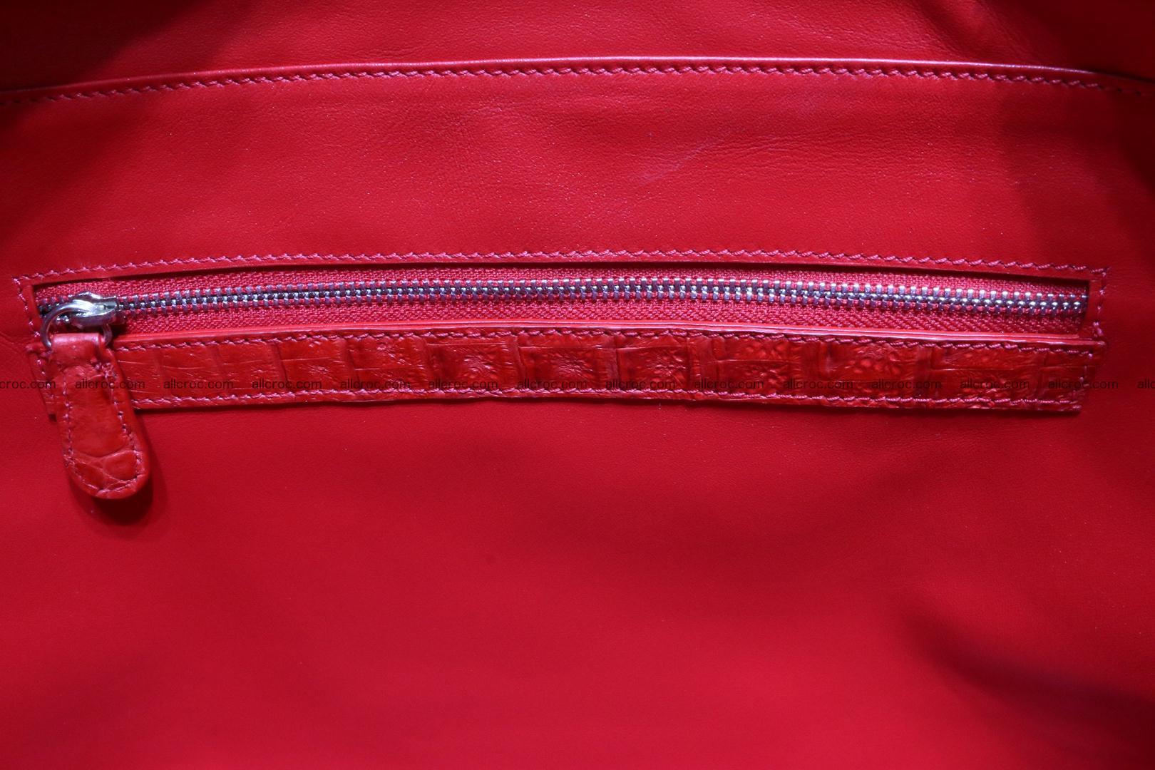 Genuine crocodile leather women's bag 062 Foto 14