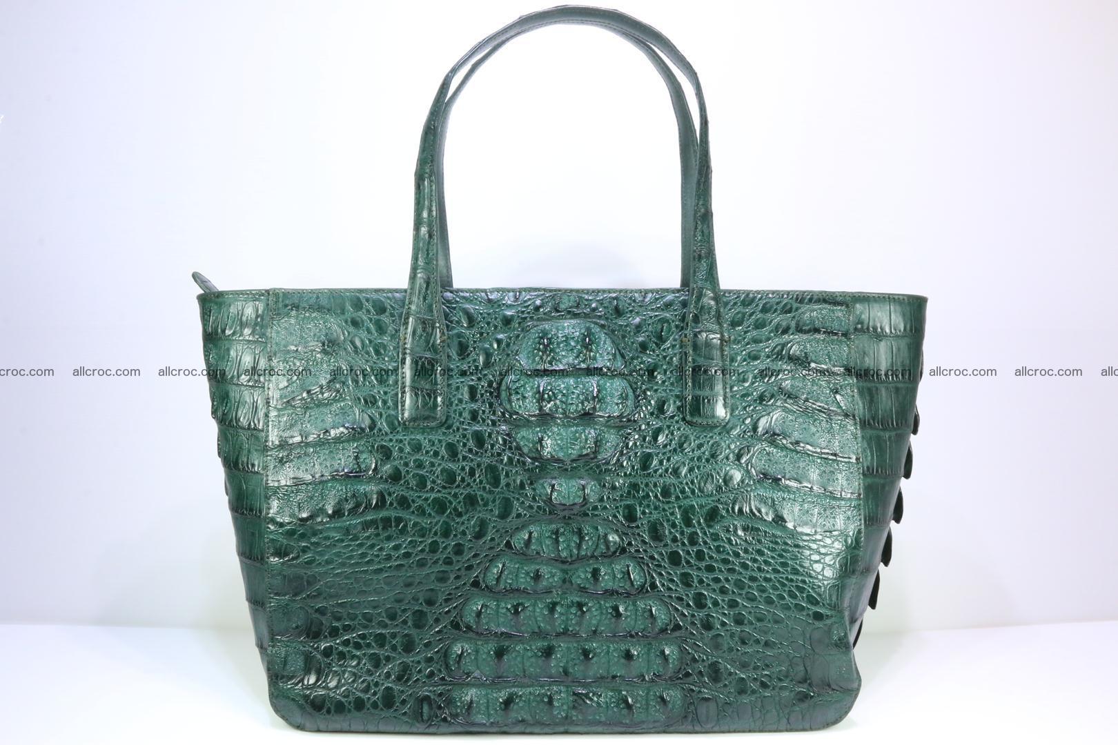 Genuine crocodile leather women's bag 064 Foto 0