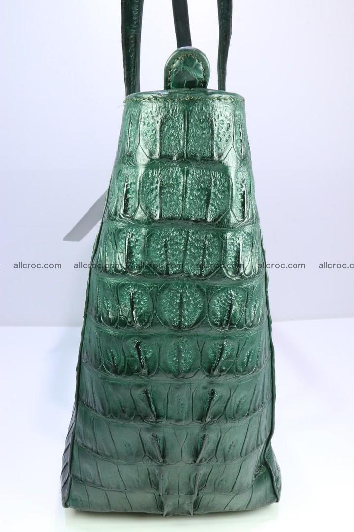 Genuine crocodile leather women's bag 064 Foto 9