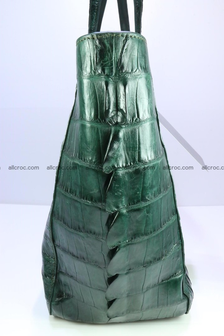 Genuine crocodile leather women's bag 064 Foto 8