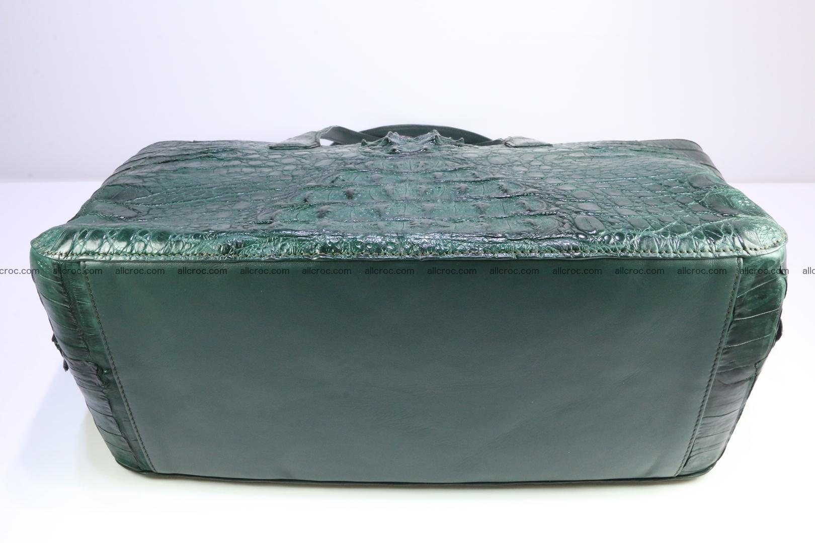 Genuine crocodile leather women's bag 064 Foto 11