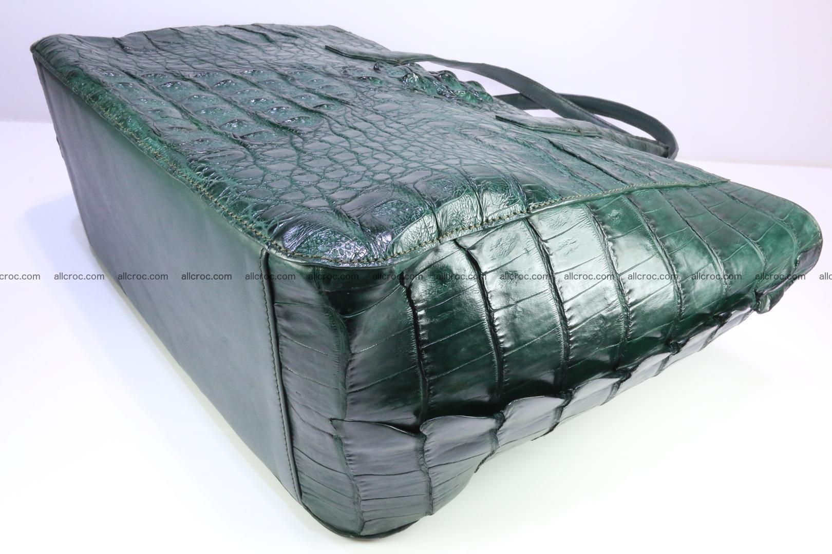 Genuine crocodile leather women's bag 064 Foto 10