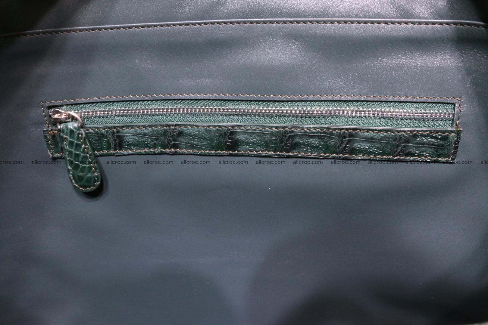 Genuine crocodile leather women's bag 064 Foto 14