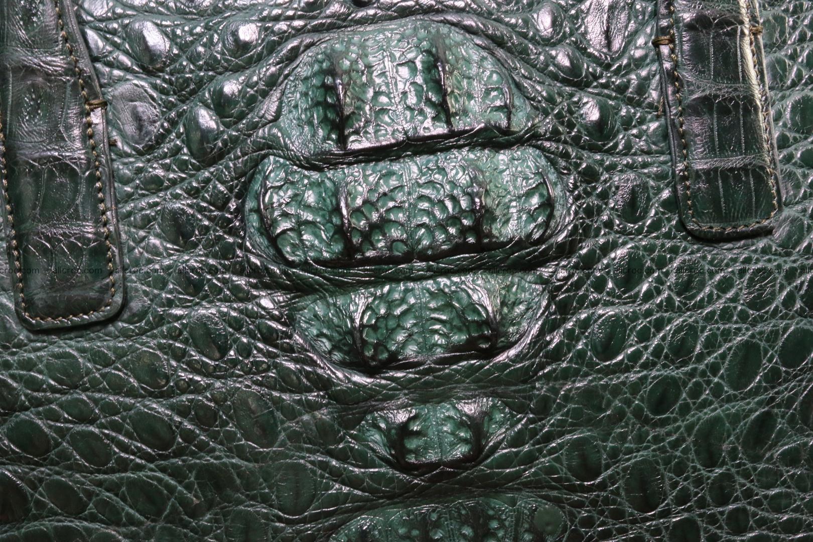 Genuine crocodile leather women's bag 064 Foto 2