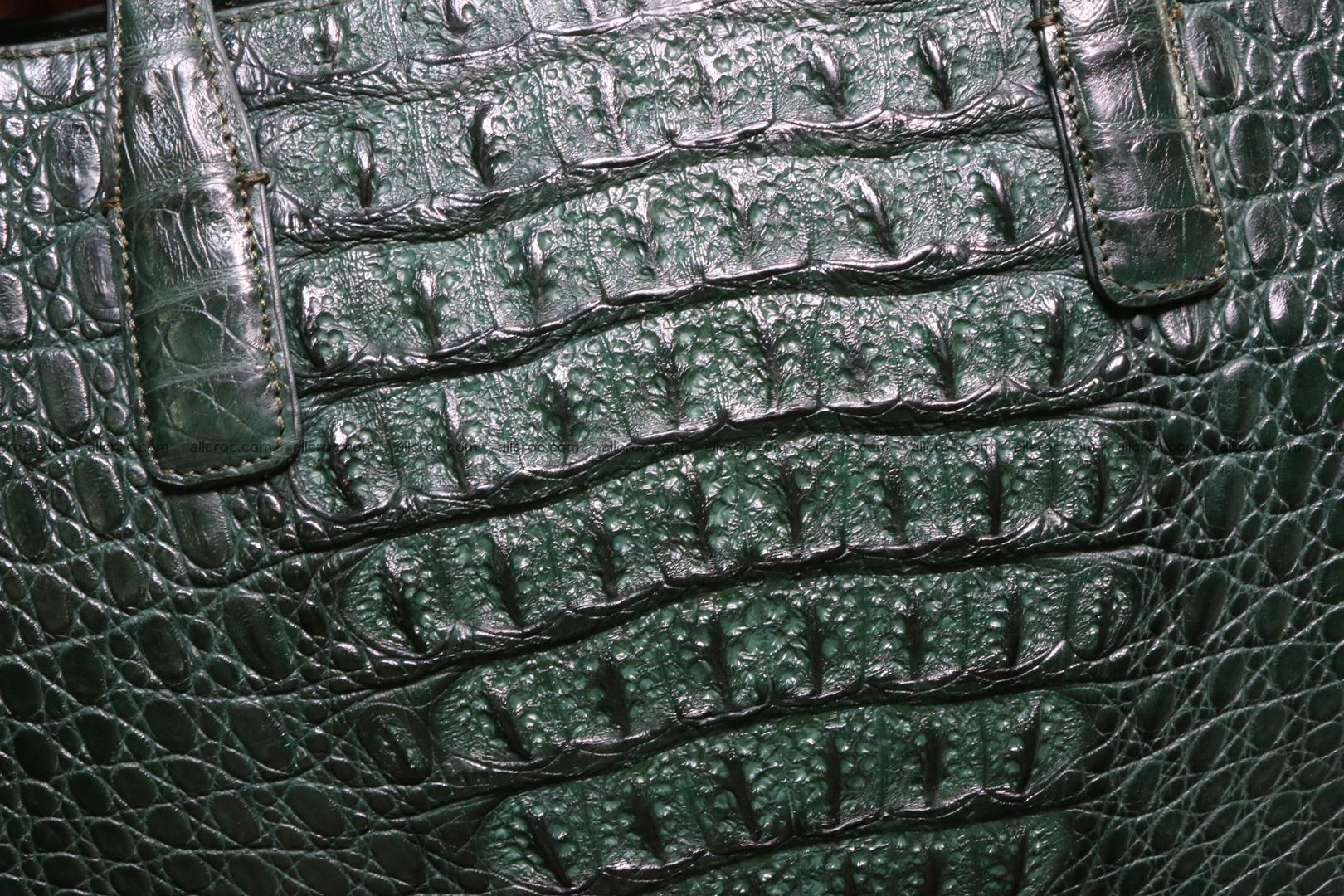 Genuine crocodile leather women's bag 064 Foto 3