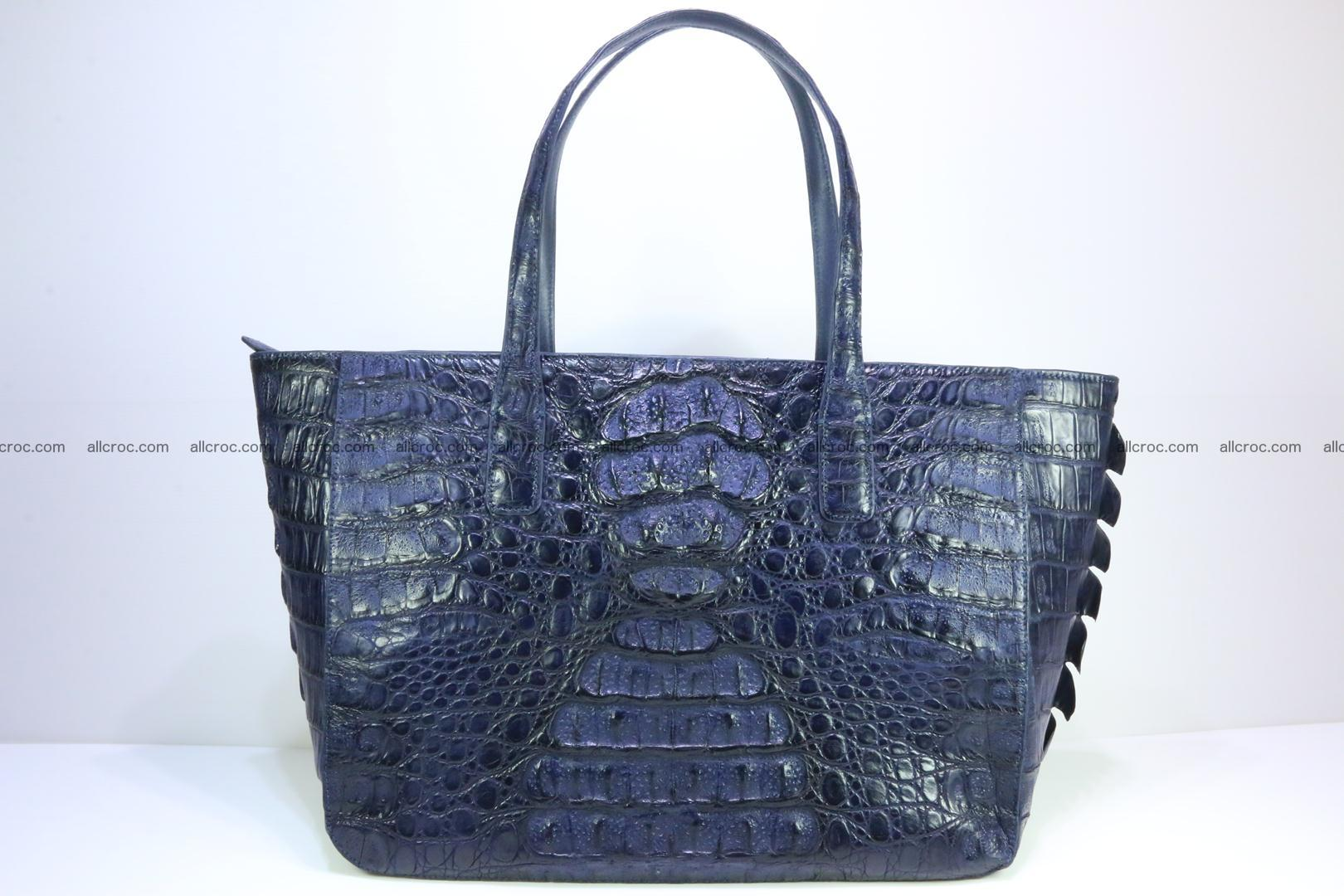 Genuine crocodile leather women's bag 065 Foto 0