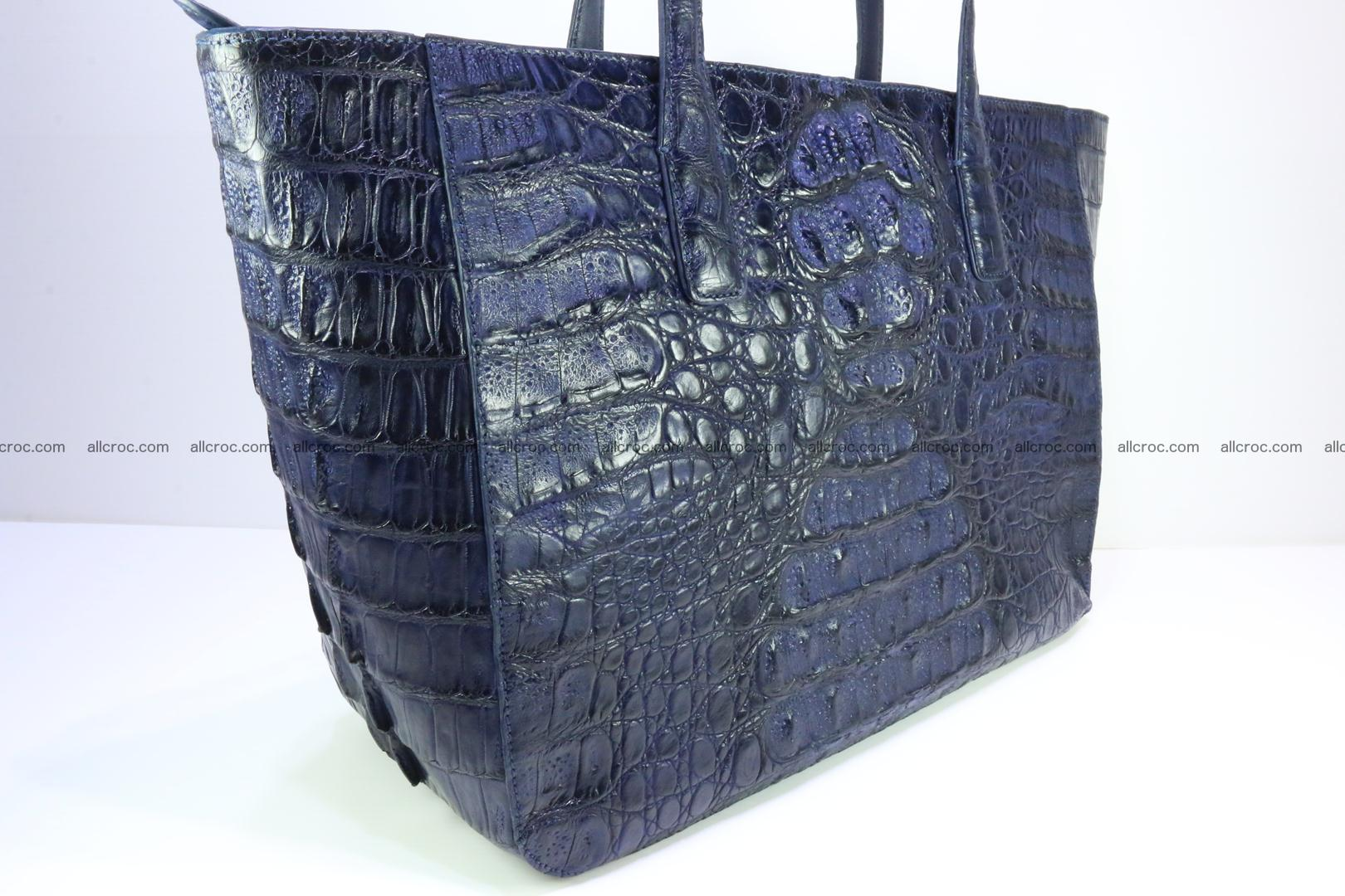 Genuine crocodile leather women's bag 065 Foto 4