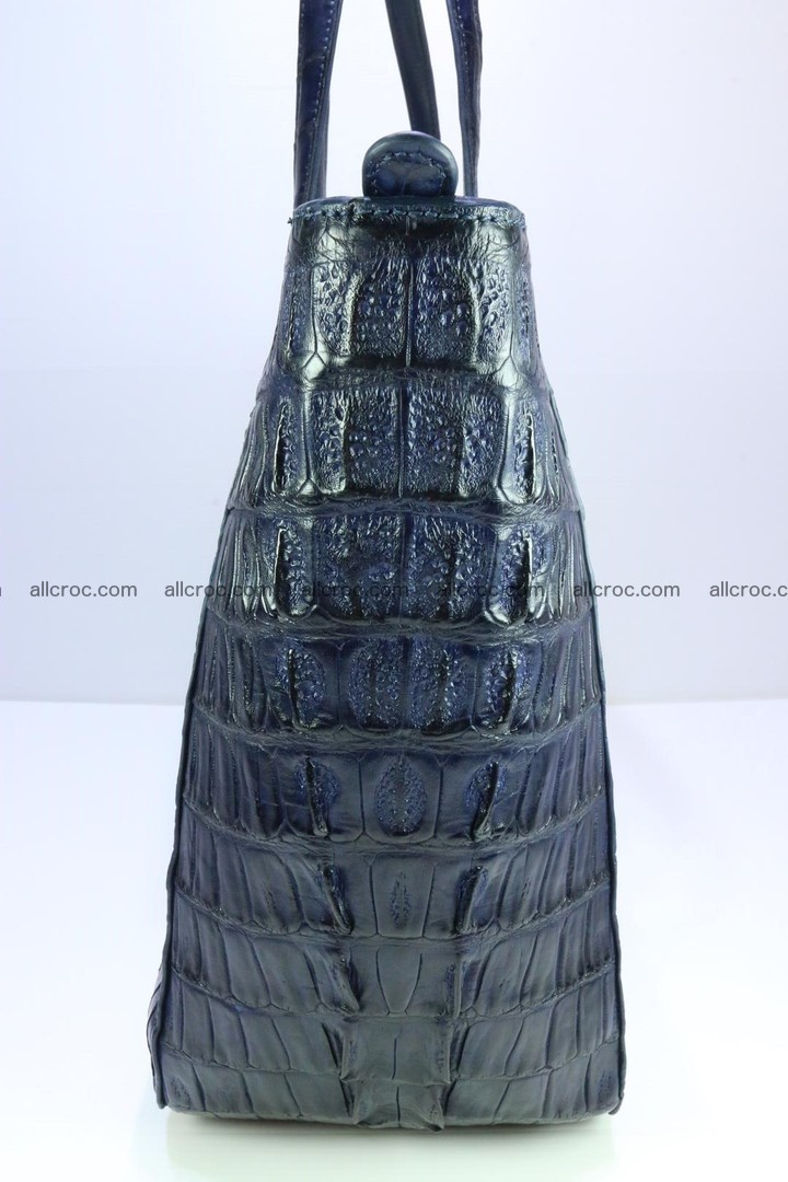 Genuine crocodile leather women's bag 065 Foto 8
