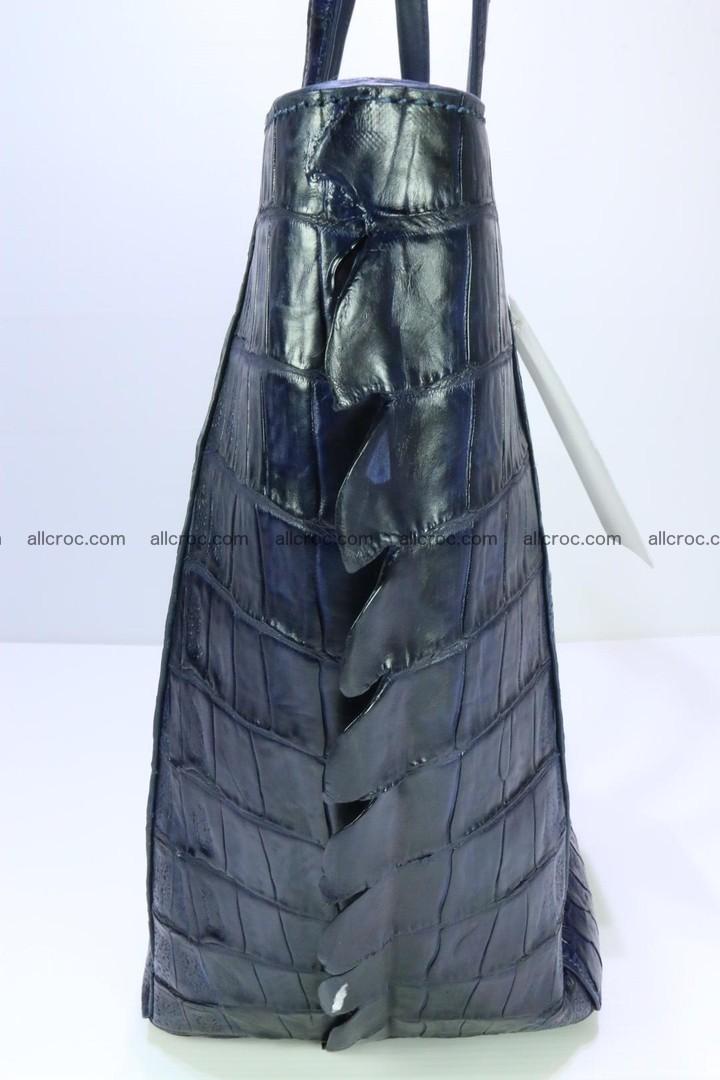 Genuine crocodile leather women's bag 065 Foto 7