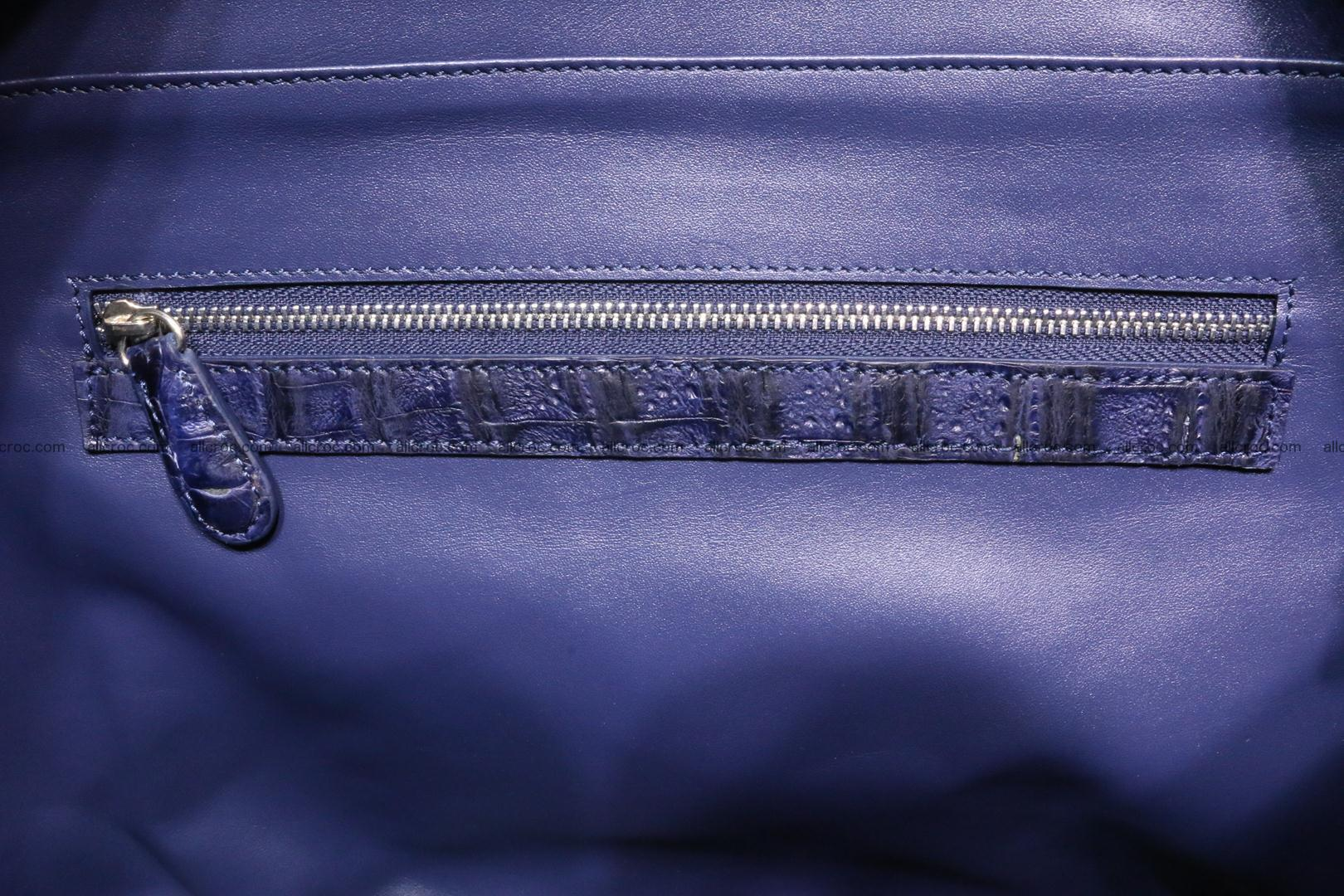 Genuine crocodile leather women's bag 065 Foto 13