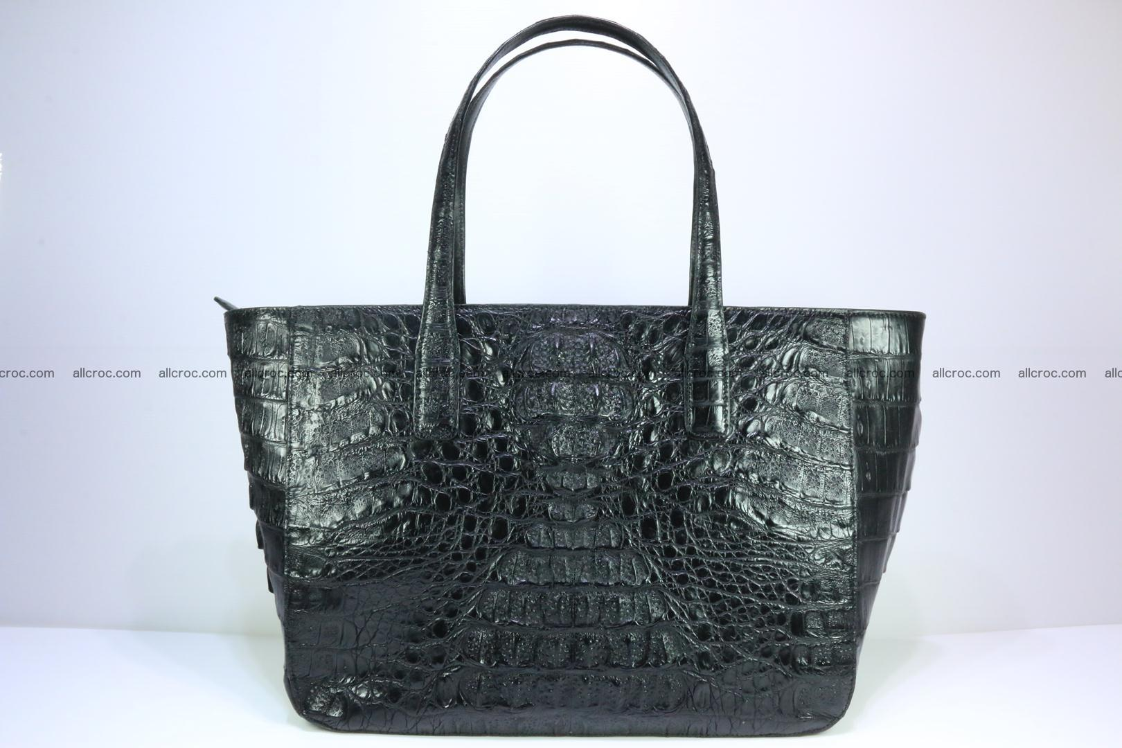 Genuine crocodile leather women's bag 066 Foto 0