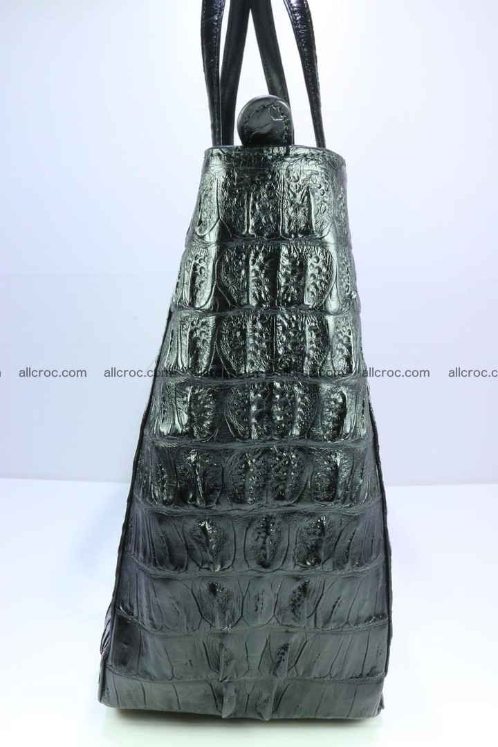 Genuine crocodile leather women's bag 066 Foto 4