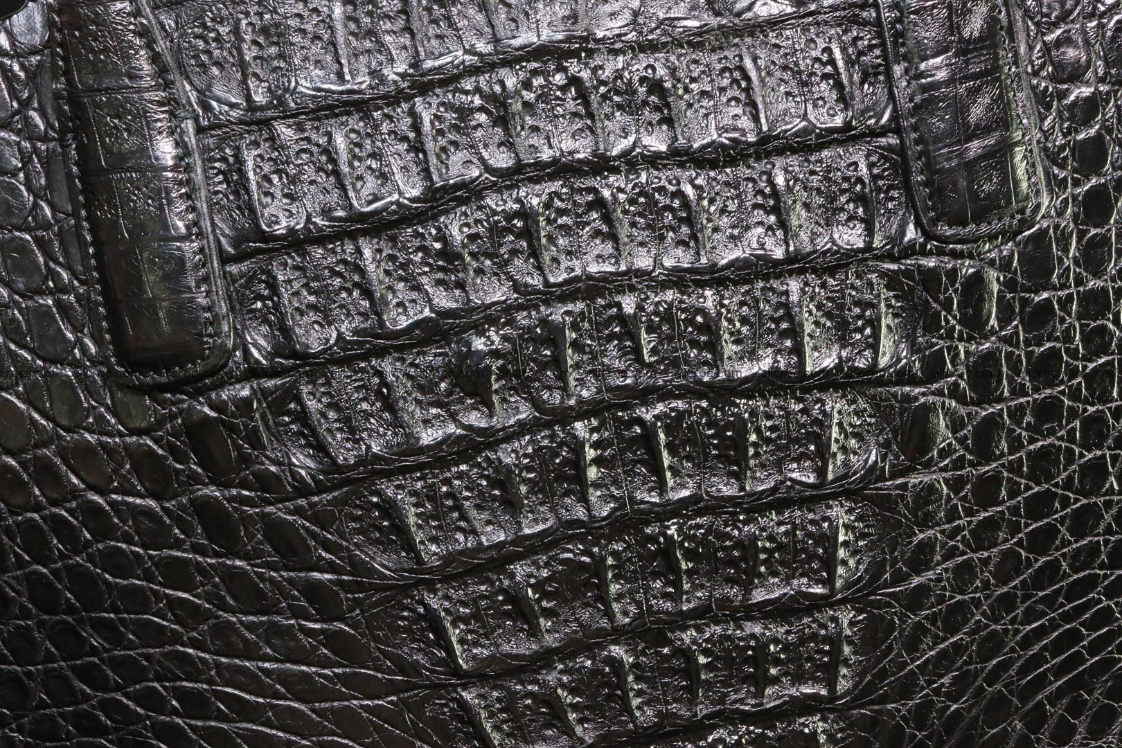 Genuine crocodile leather women's bag 066 Foto 3