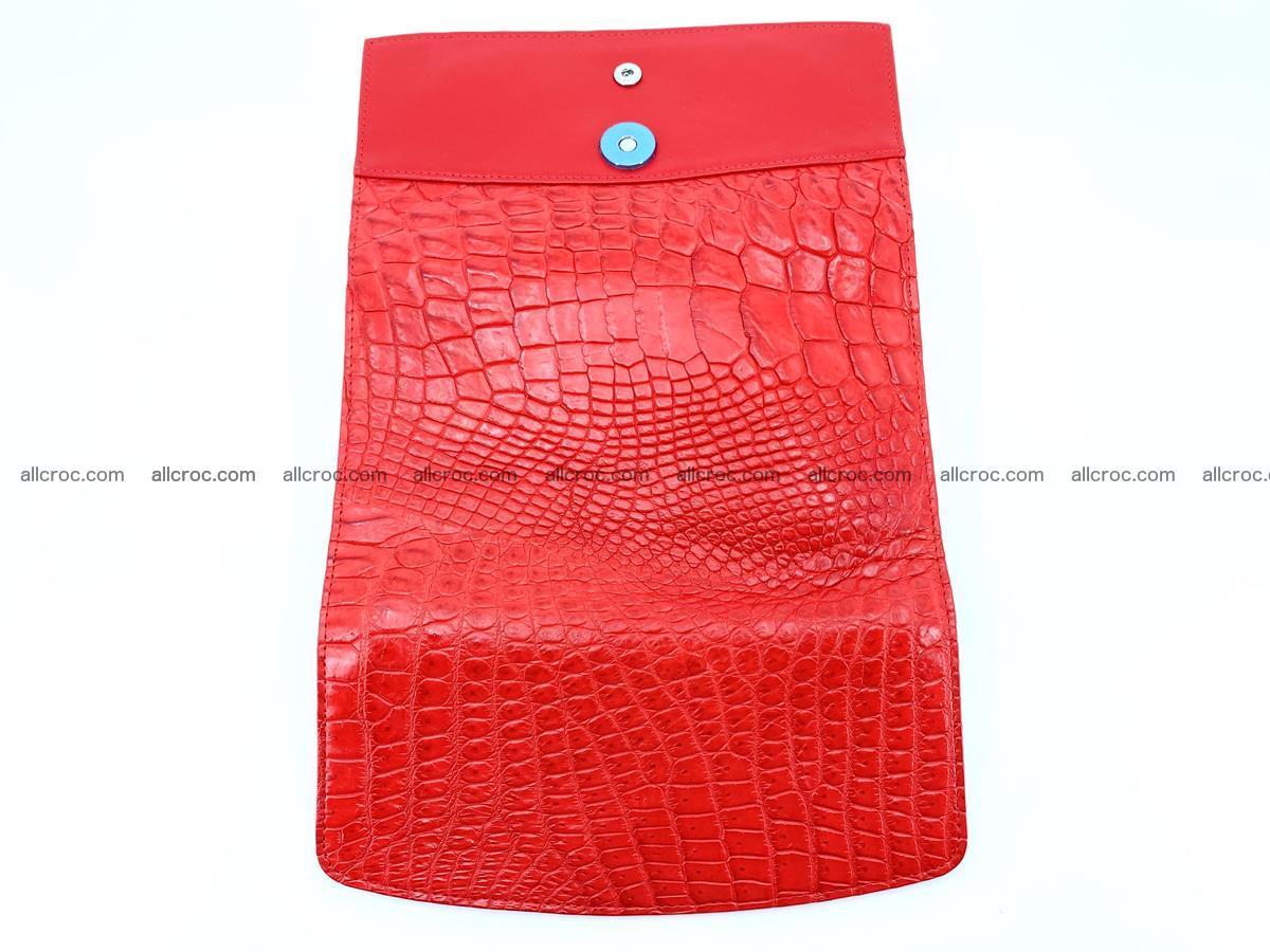 Genuine Crocodile skin trifold wallet, long wallet for women 455 Foto 8