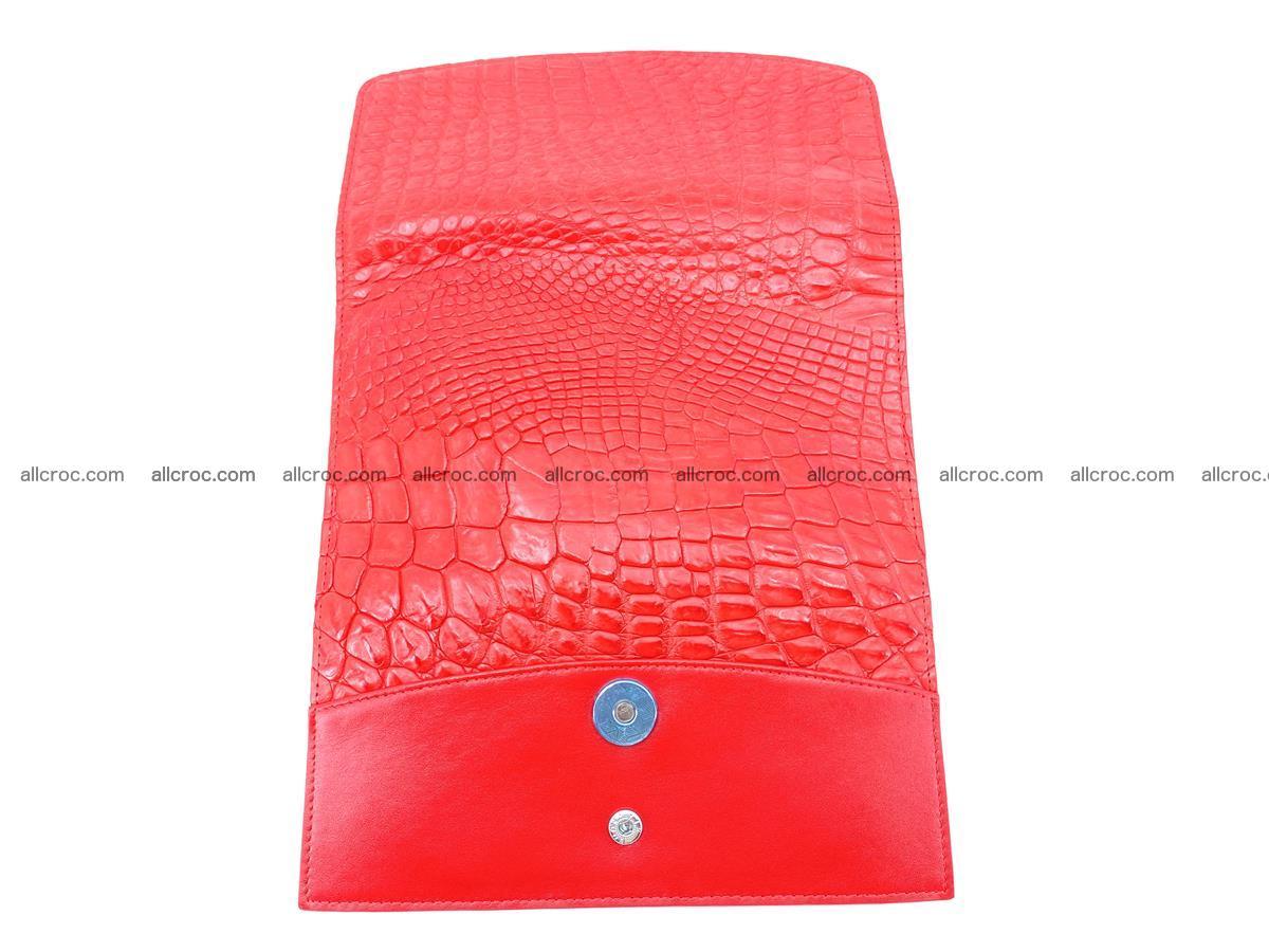 Genuine Crocodile skin trifold wallet, long wallet for women 455 Foto 9