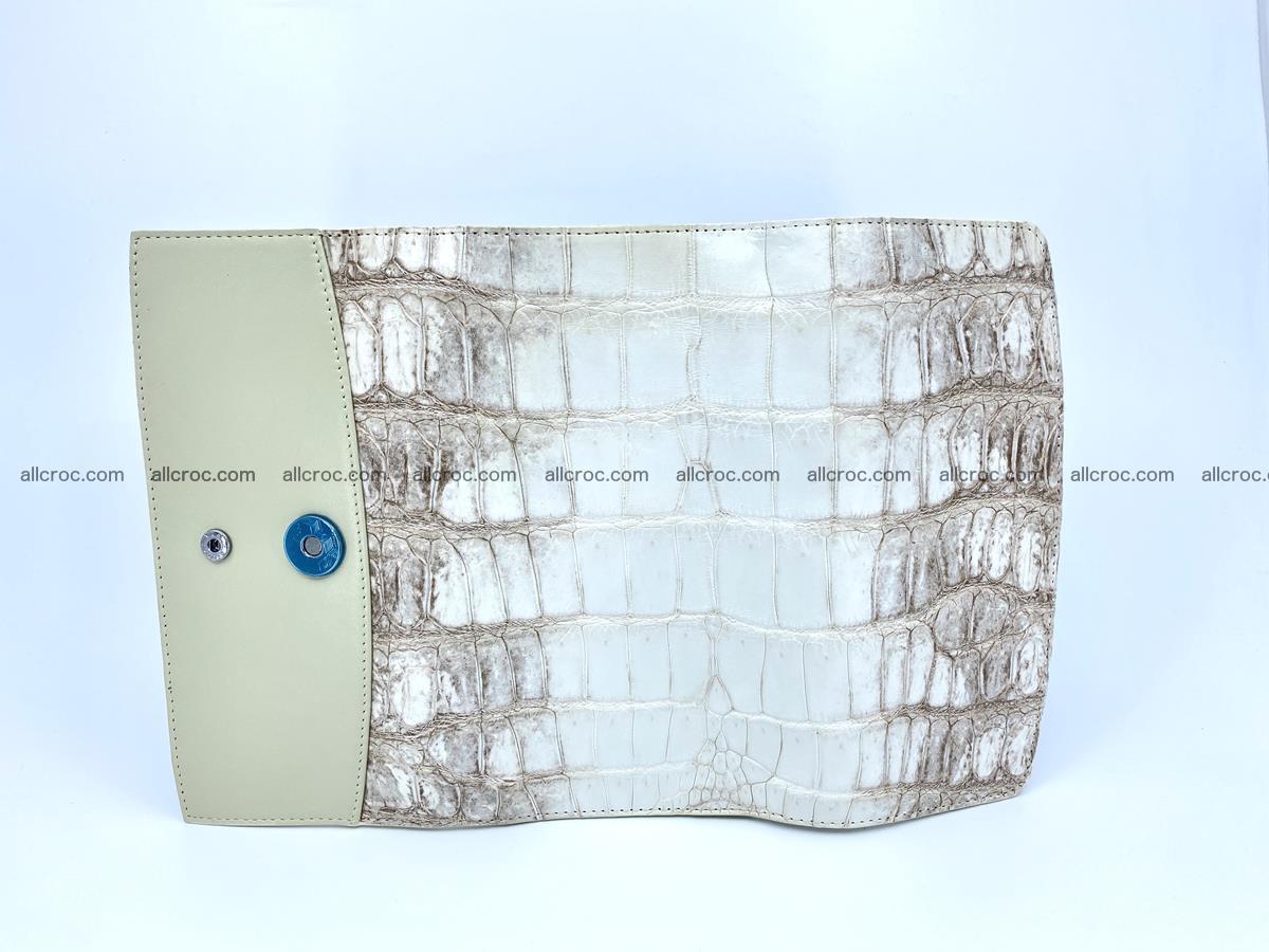 Genuine Crocodile skin trifold wallet, long wallet for women 460 Foto 4