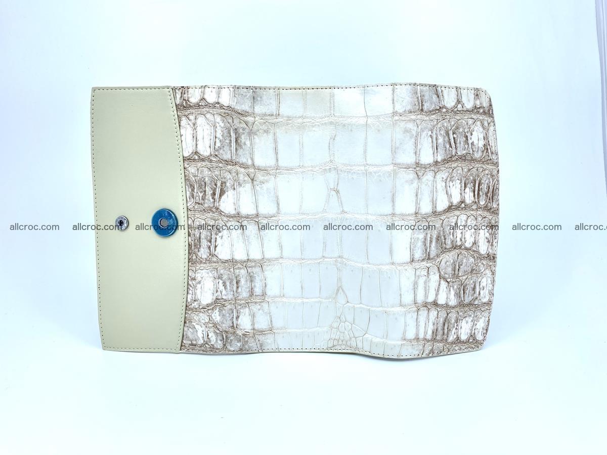 Genuine Crocodile skin trifold wallet, long wallet for women 460 Foto 6