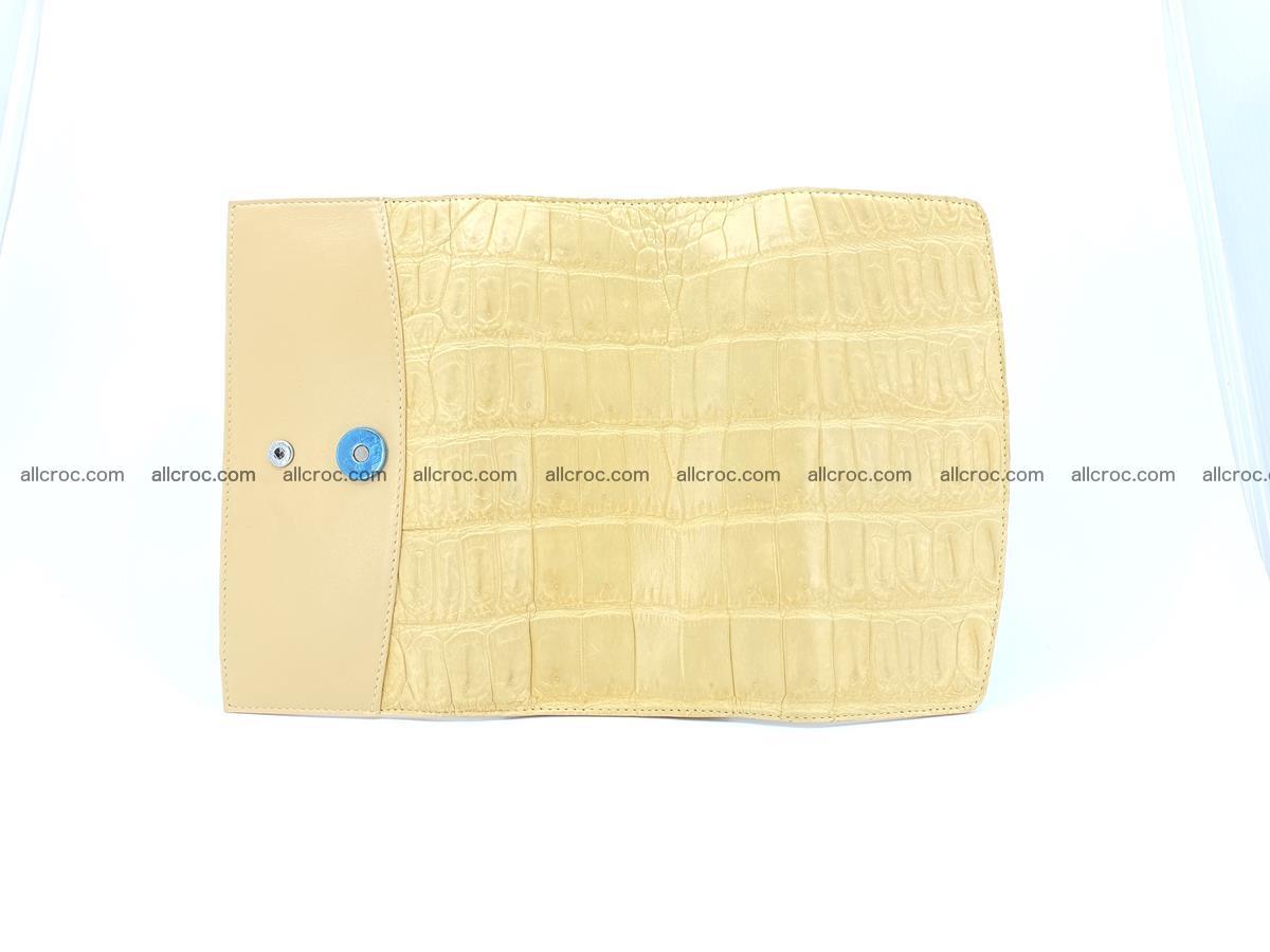 Genuine Crocodile skin trifold wallet, long wallet for women 476 Foto 7