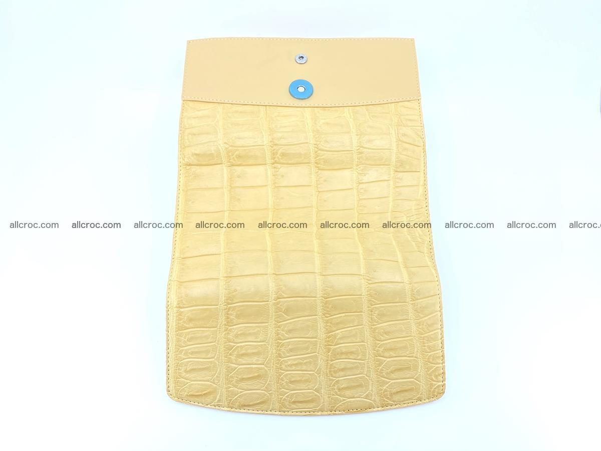 Genuine Crocodile skin trifold wallet, long wallet for women 476 Foto 8