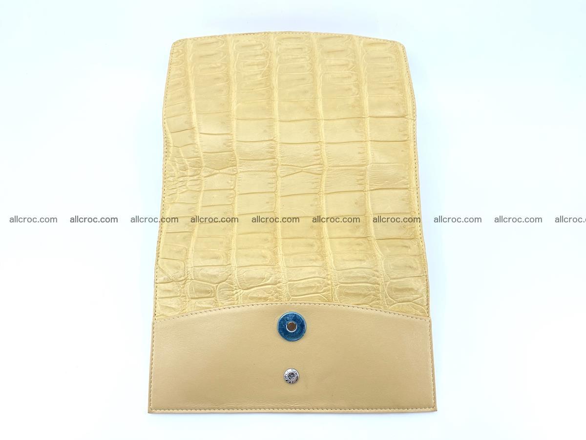 Genuine Crocodile skin trifold wallet, long wallet for women 476 Foto 9