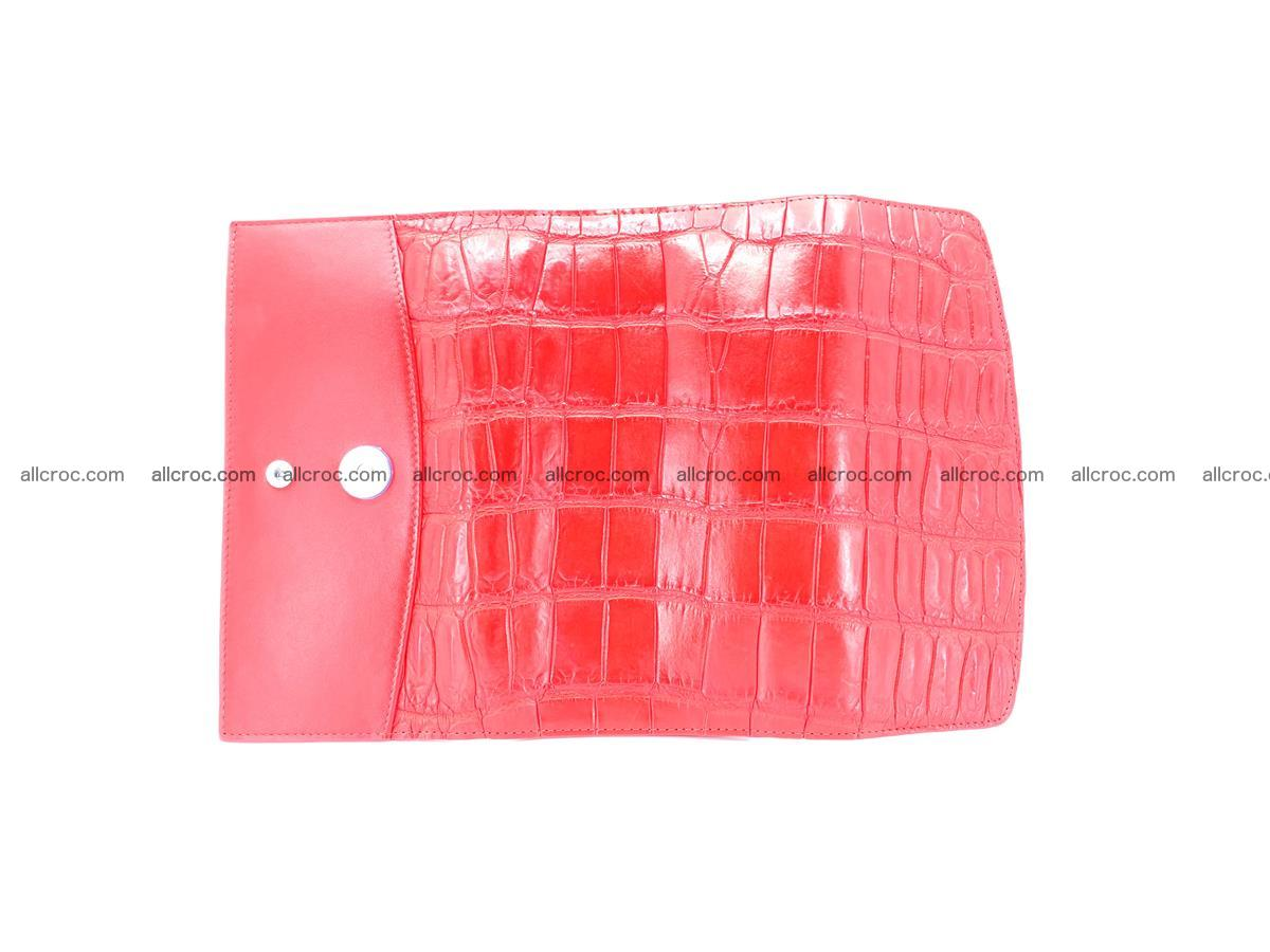 Genuine Crocodile skin trifold wallet, long wallet for women 456 Foto 7