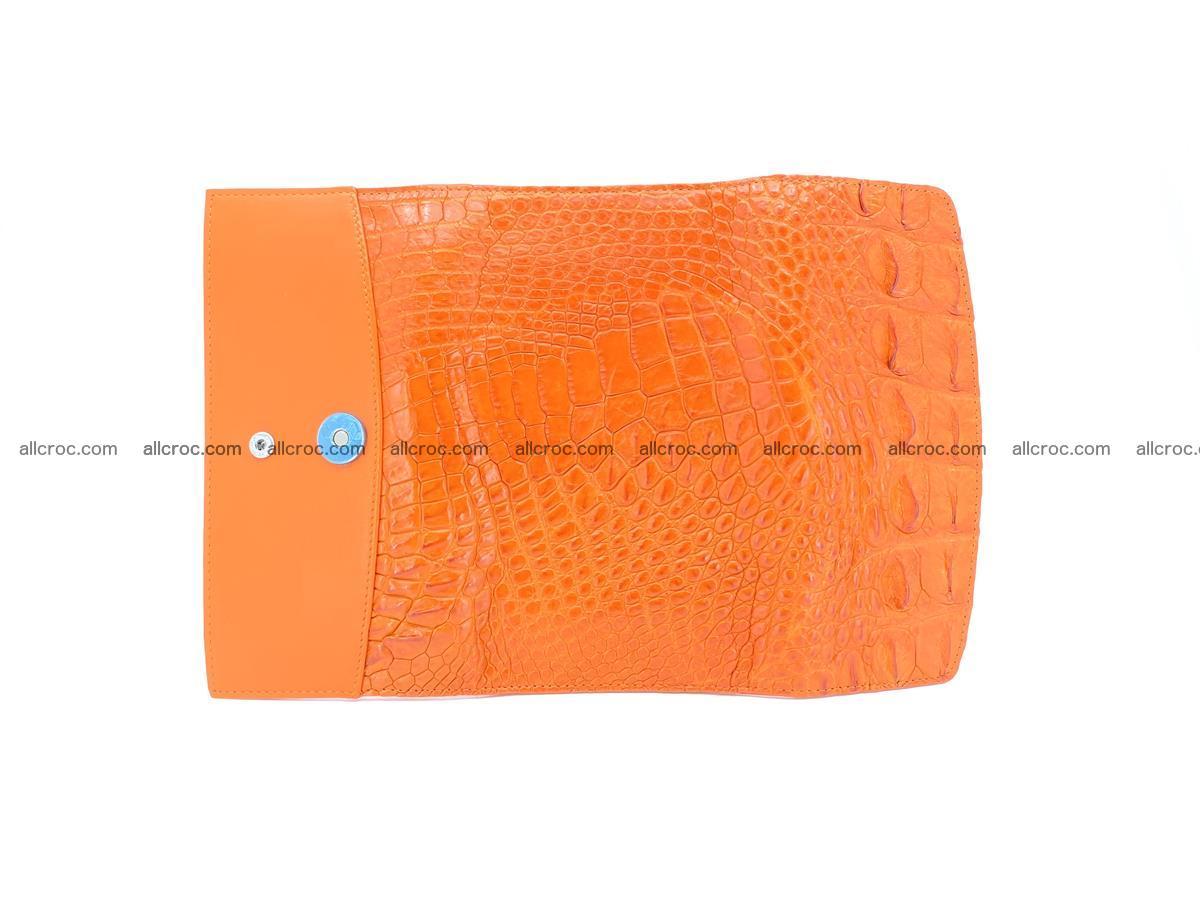 Genuine Crocodile skin trifold wallet, long wallet for women 481 Foto 7
