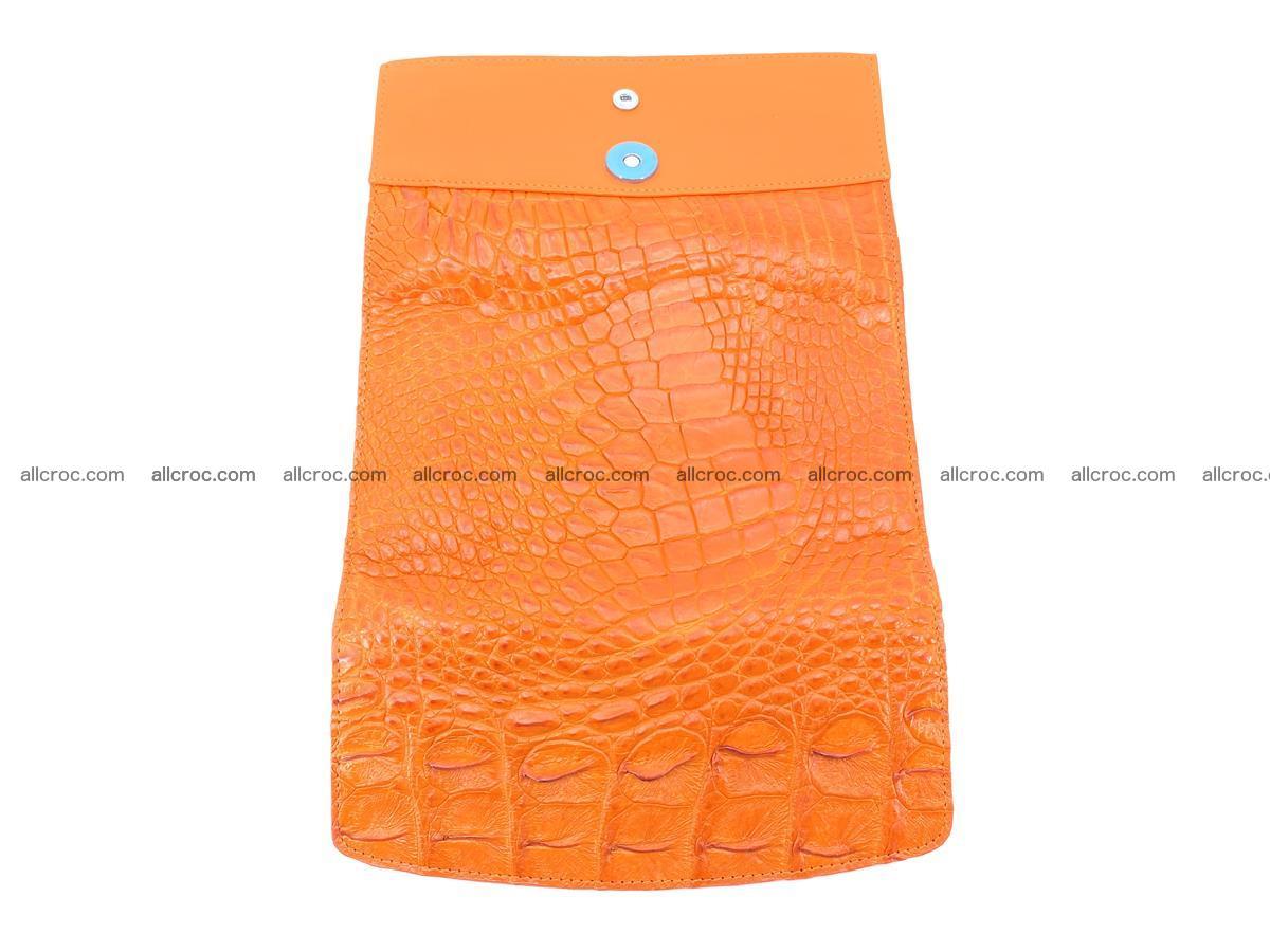 Genuine Crocodile skin trifold wallet, long wallet for women 481 Foto 9