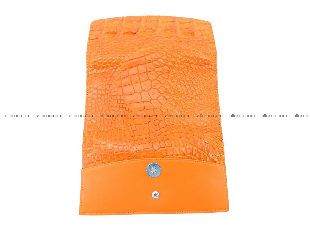 Genuine Crocodile skin trifold wallet, long wallet for women 481 Foto 8