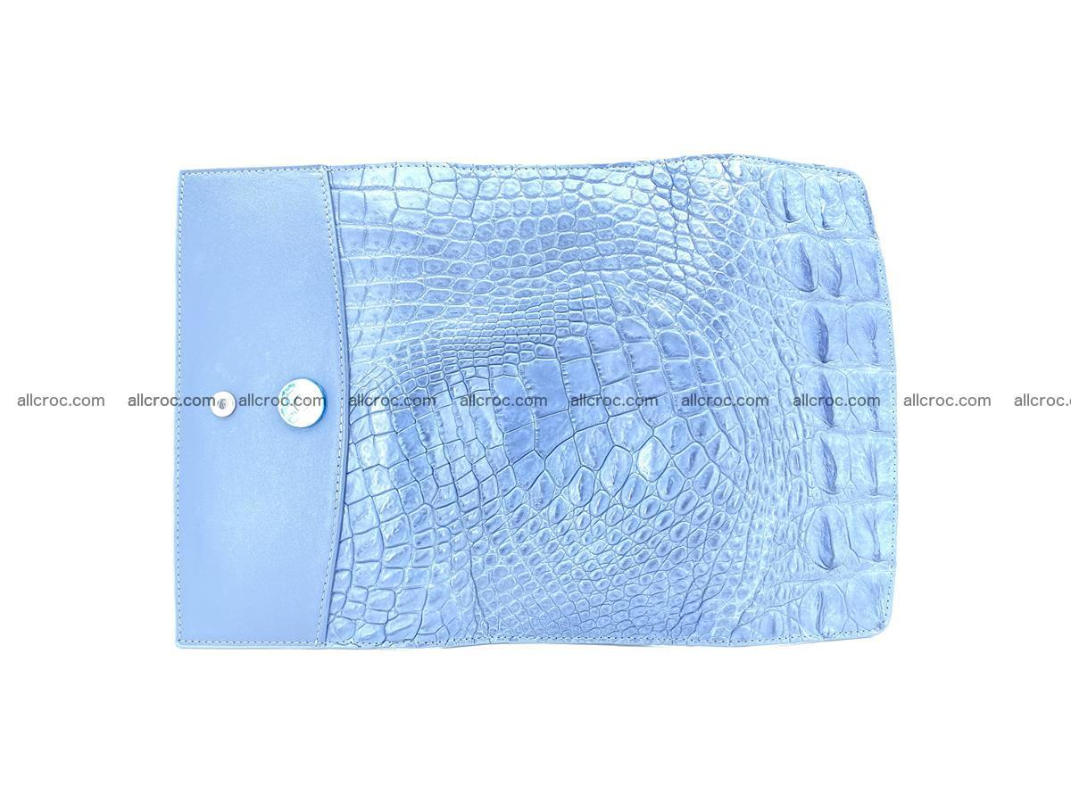 Genuine Crocodile skin trifold wallet, long wallet for women 475 Foto 7
