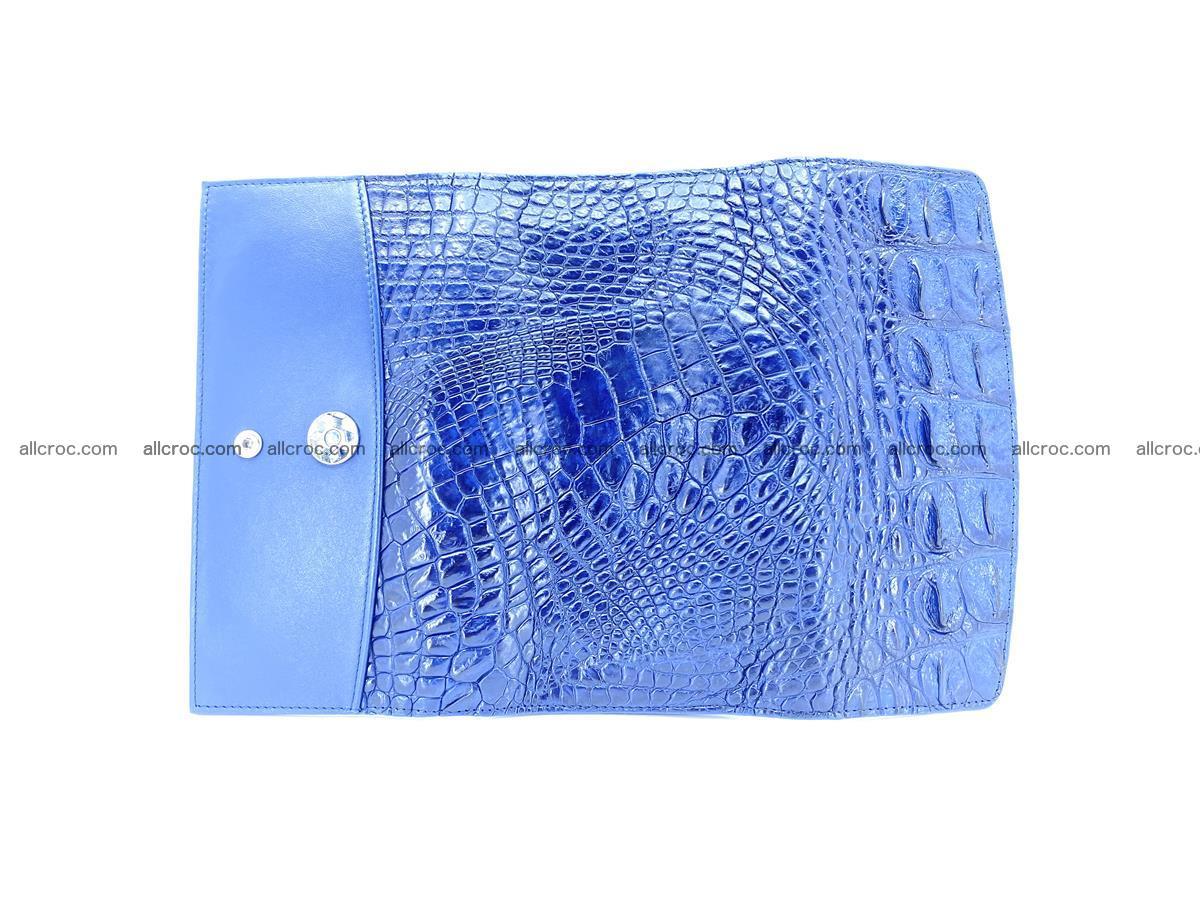 Genuine Crocodile skin trifold wallet, long wallet for women 472 Foto 7