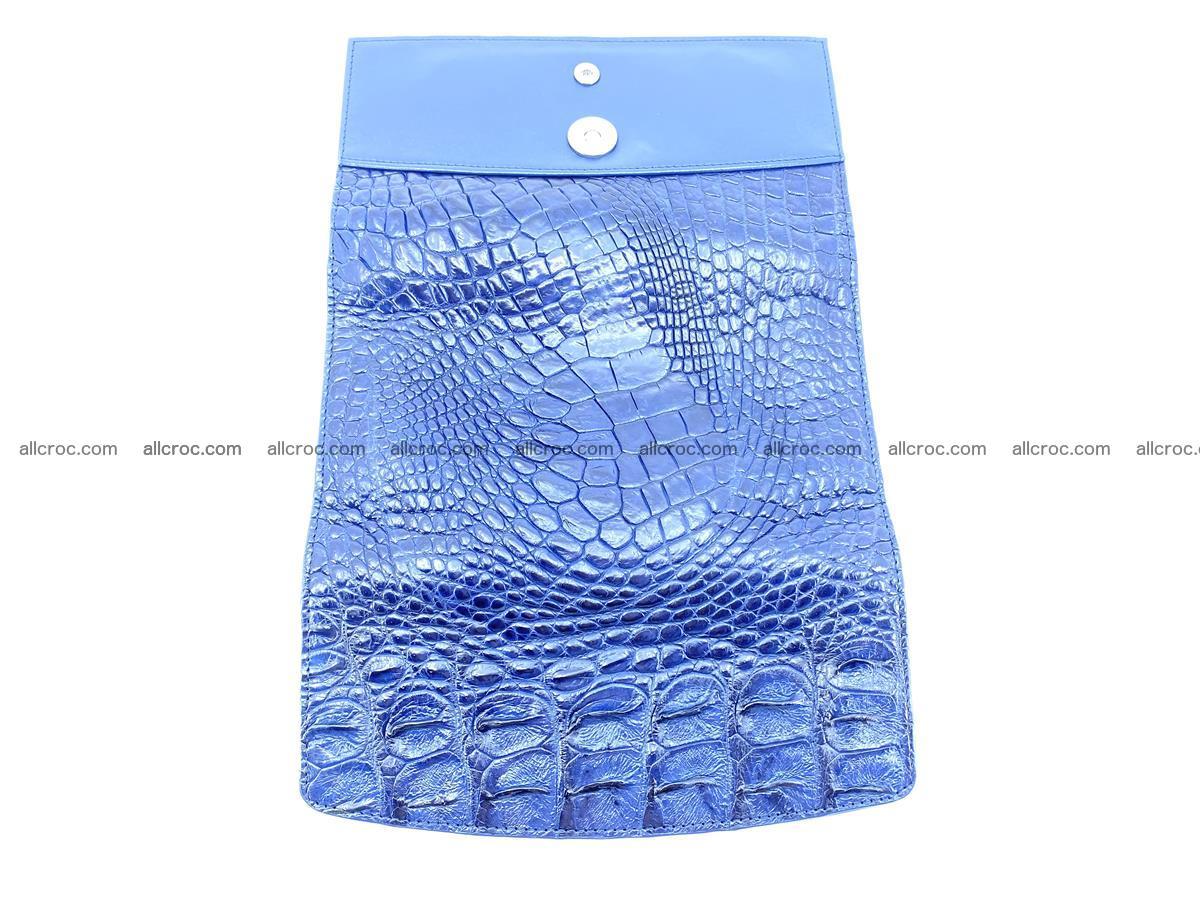 Genuine Crocodile skin trifold wallet, long wallet for women 472 Foto 9
