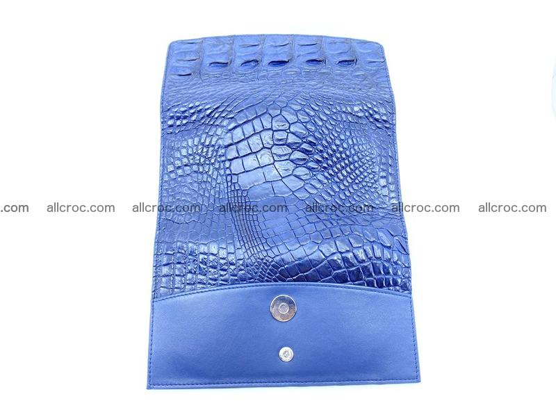 Genuine Crocodile skin trifold wallet, long wallet for women 472