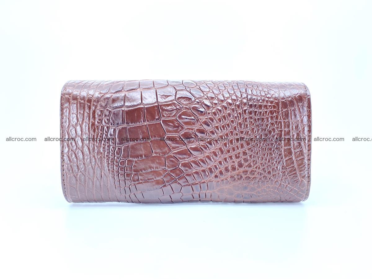 Genuine Crocodile skin trifold wallet, long wallet for women from 464 Foto 1