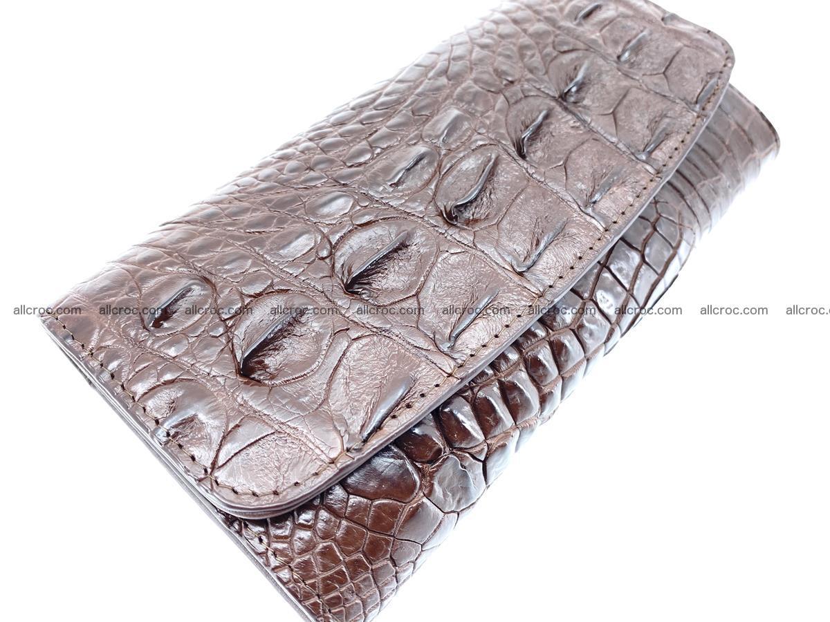 Genuine Crocodile skin trifold wallet, long wallet for women from 464 Foto 2