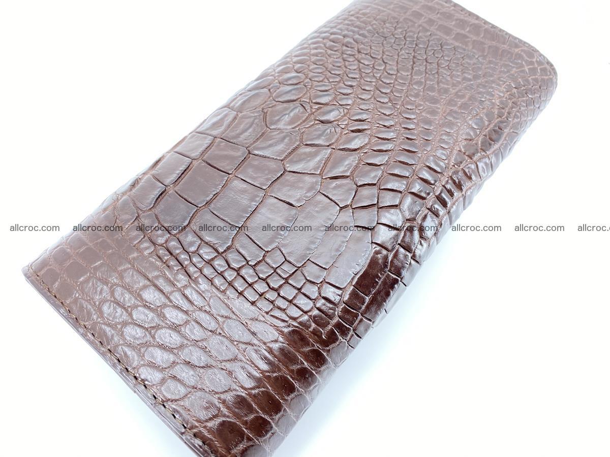 Genuine Crocodile skin trifold wallet, long wallet for women from 464 Foto 3