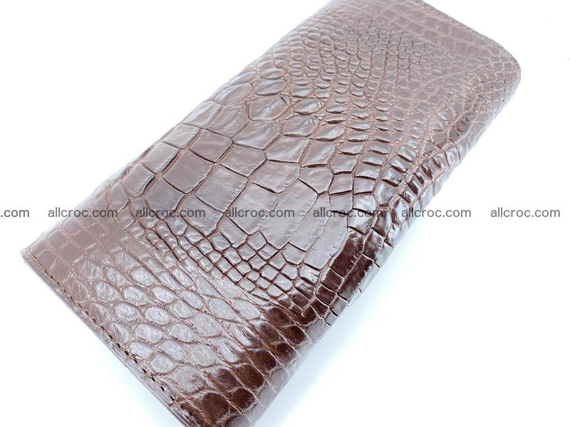 Genuine Crocodile skin trifold wallet, long wallet for women from 464