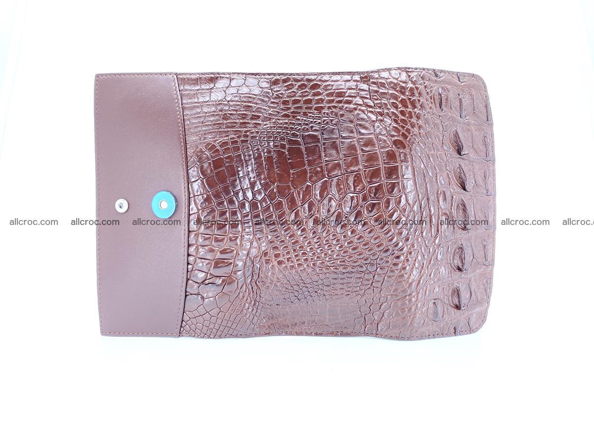 Genuine Crocodile skin trifold wallet, long wallet for women from 464 Foto 7