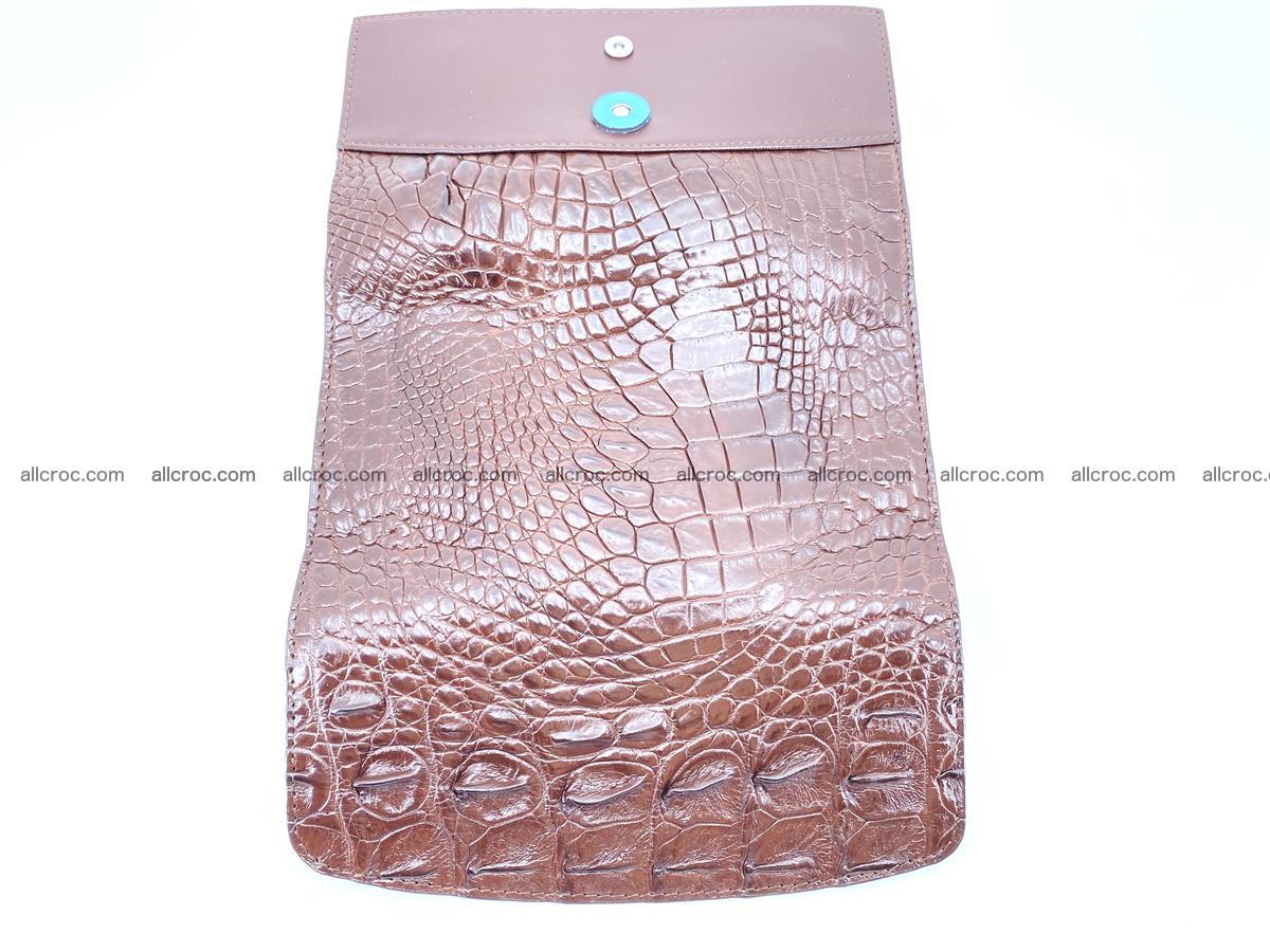 Genuine Crocodile skin trifold wallet, long wallet for women from 464 Foto 8