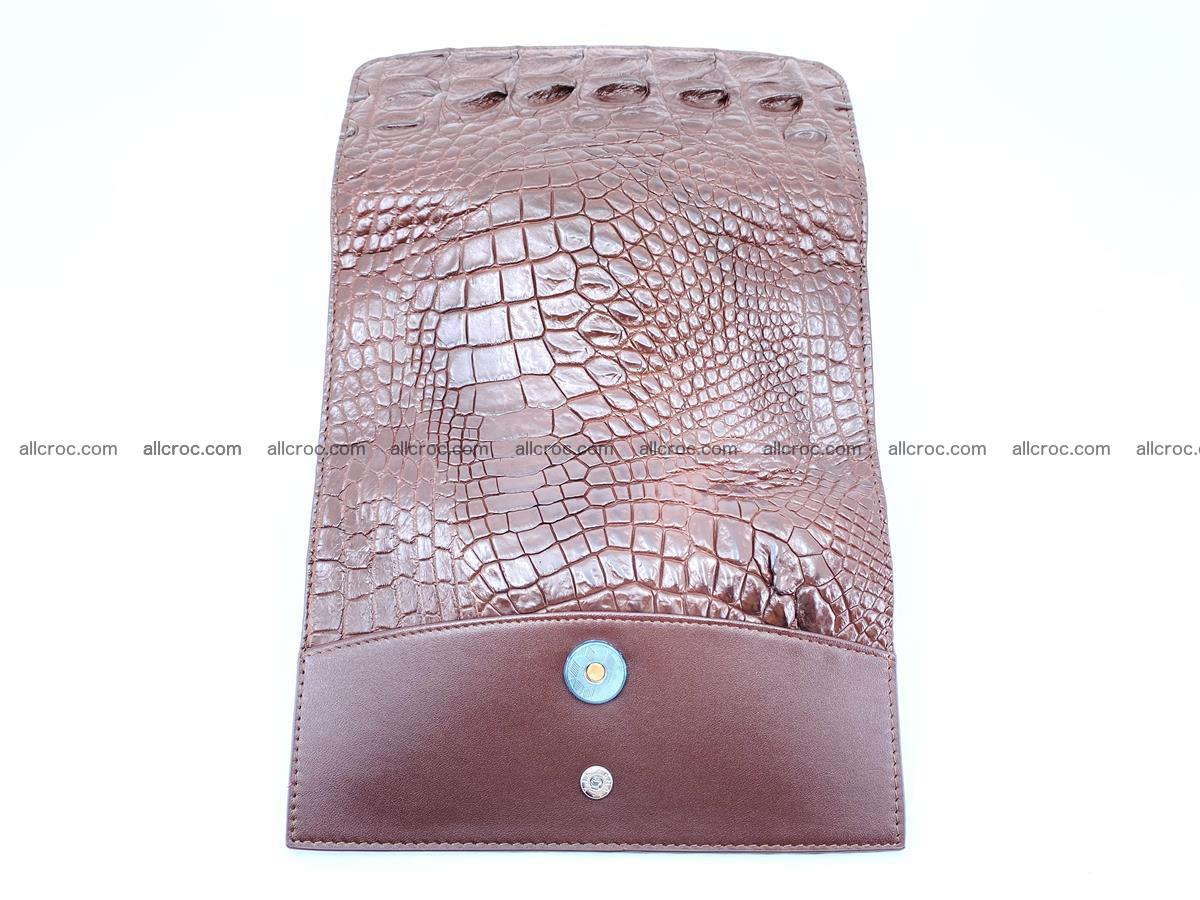 Genuine Crocodile skin trifold wallet, long wallet for women from 464 Foto 9