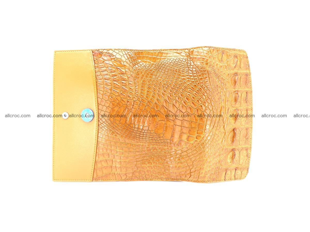 Genuine Crocodile skin trifold wallet, long wallet for women 480 Foto 7