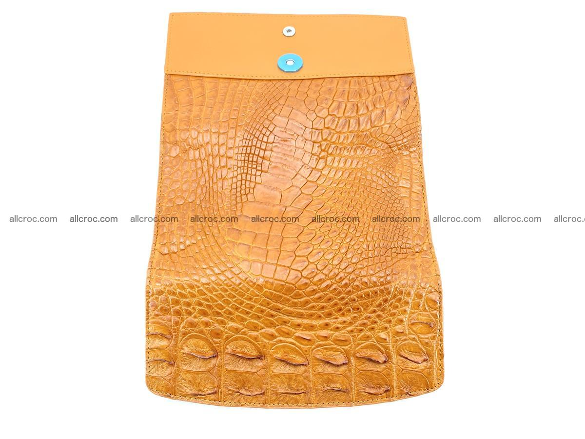 Genuine Crocodile skin trifold wallet, long wallet for women 480 Foto 8